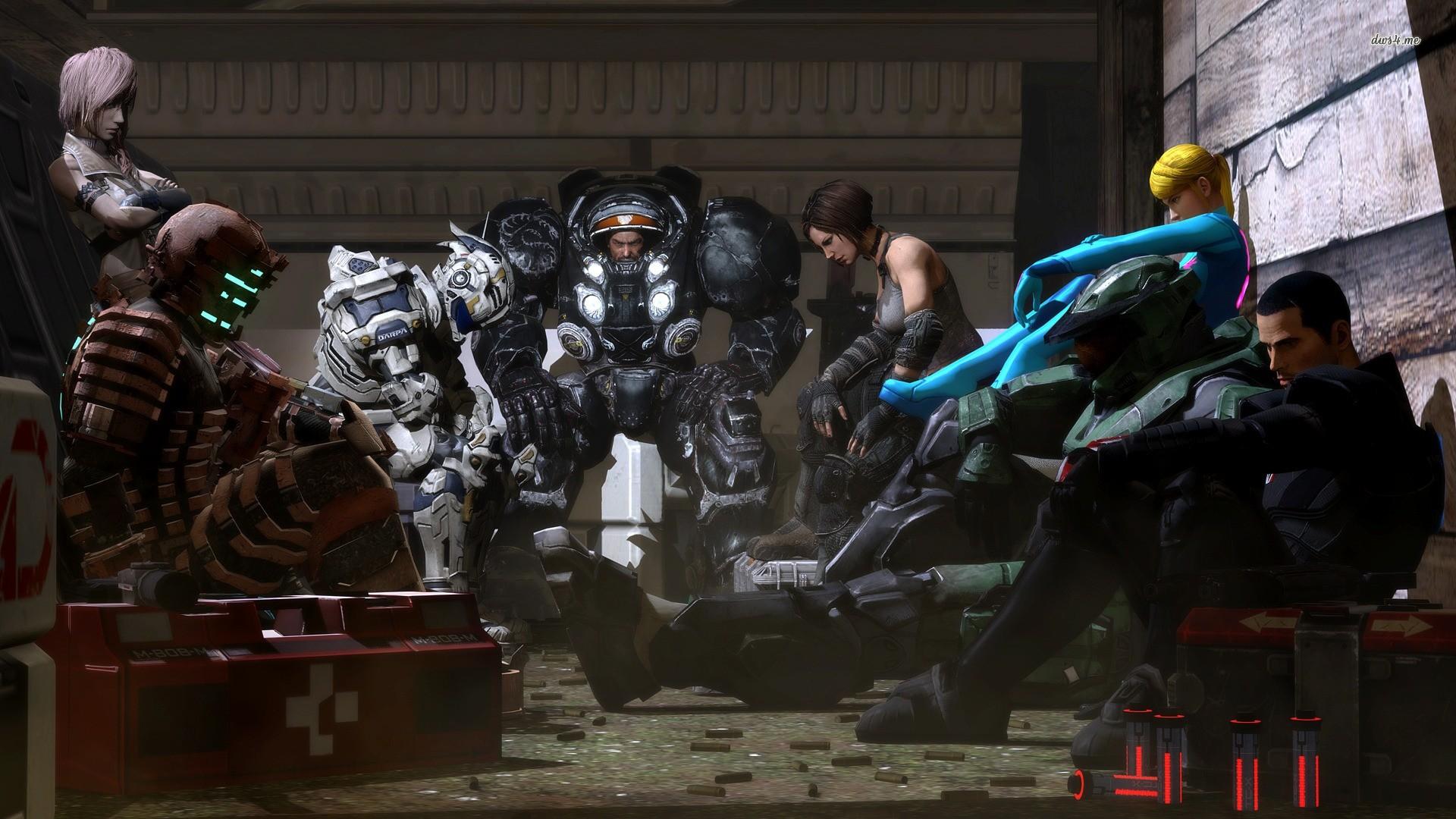 Video Games StarCraft Halo Dead Space Samus Aran