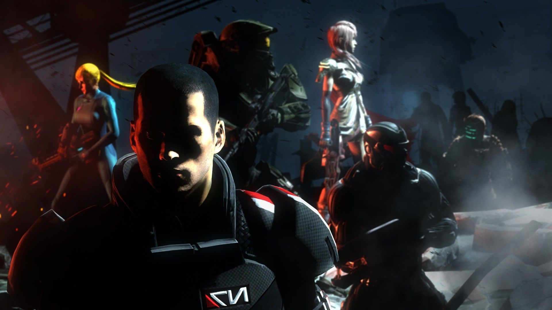 Mass Effect 3, Halo, Samus Aran, Final Fantasy XIII, Dead Space Wallpapers  HD / Desktop and Mobile Backgrounds