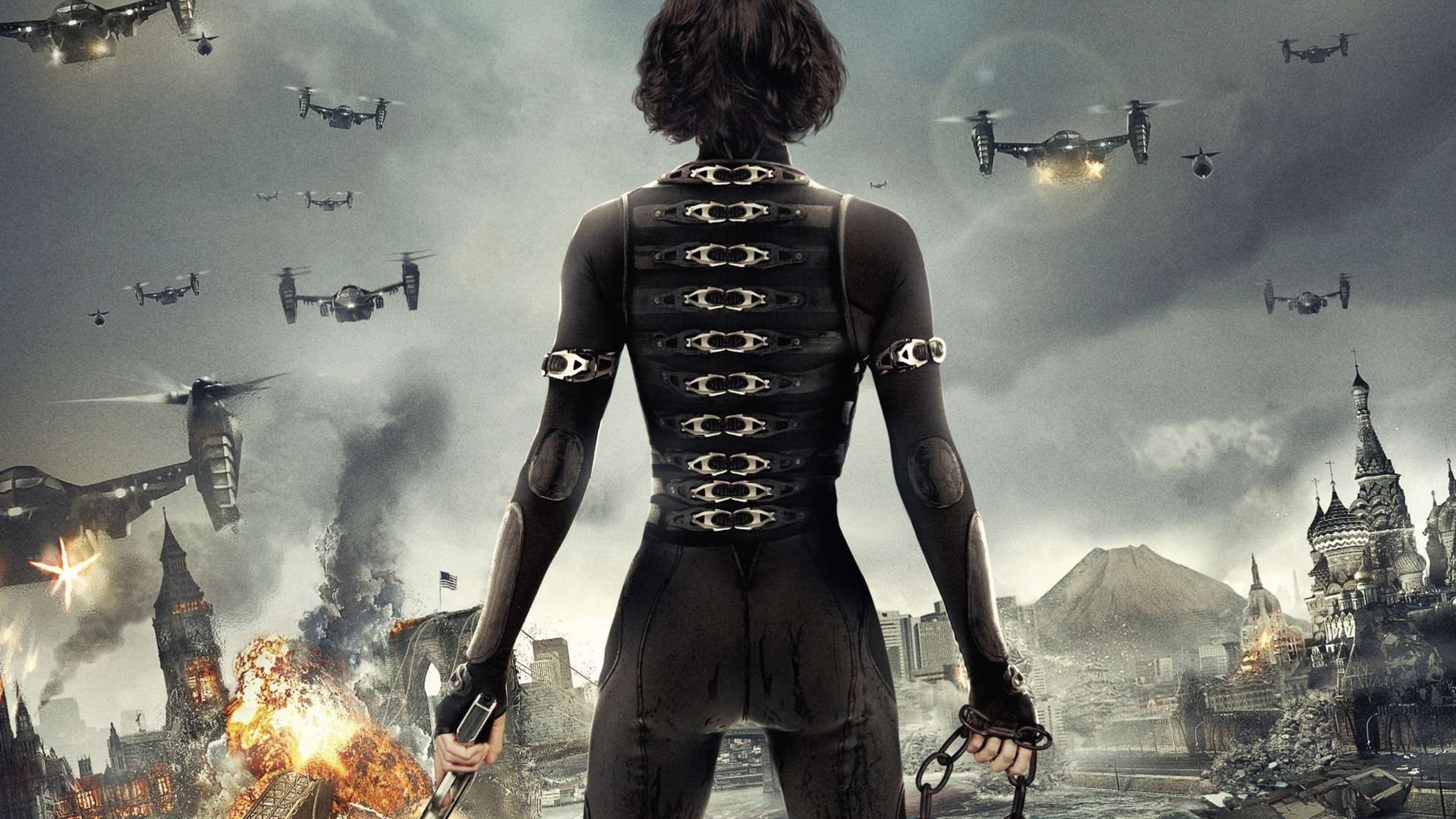 Resident Evil Movie Wallpaper Hd