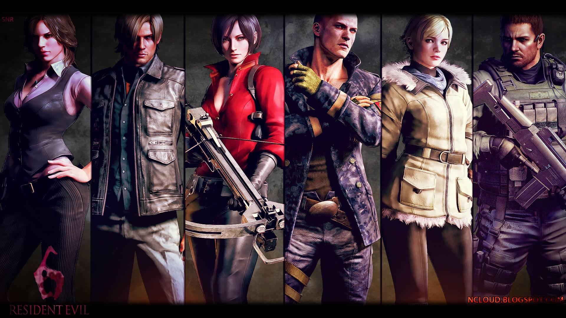 Resident Evil 6 Wallpapers Set