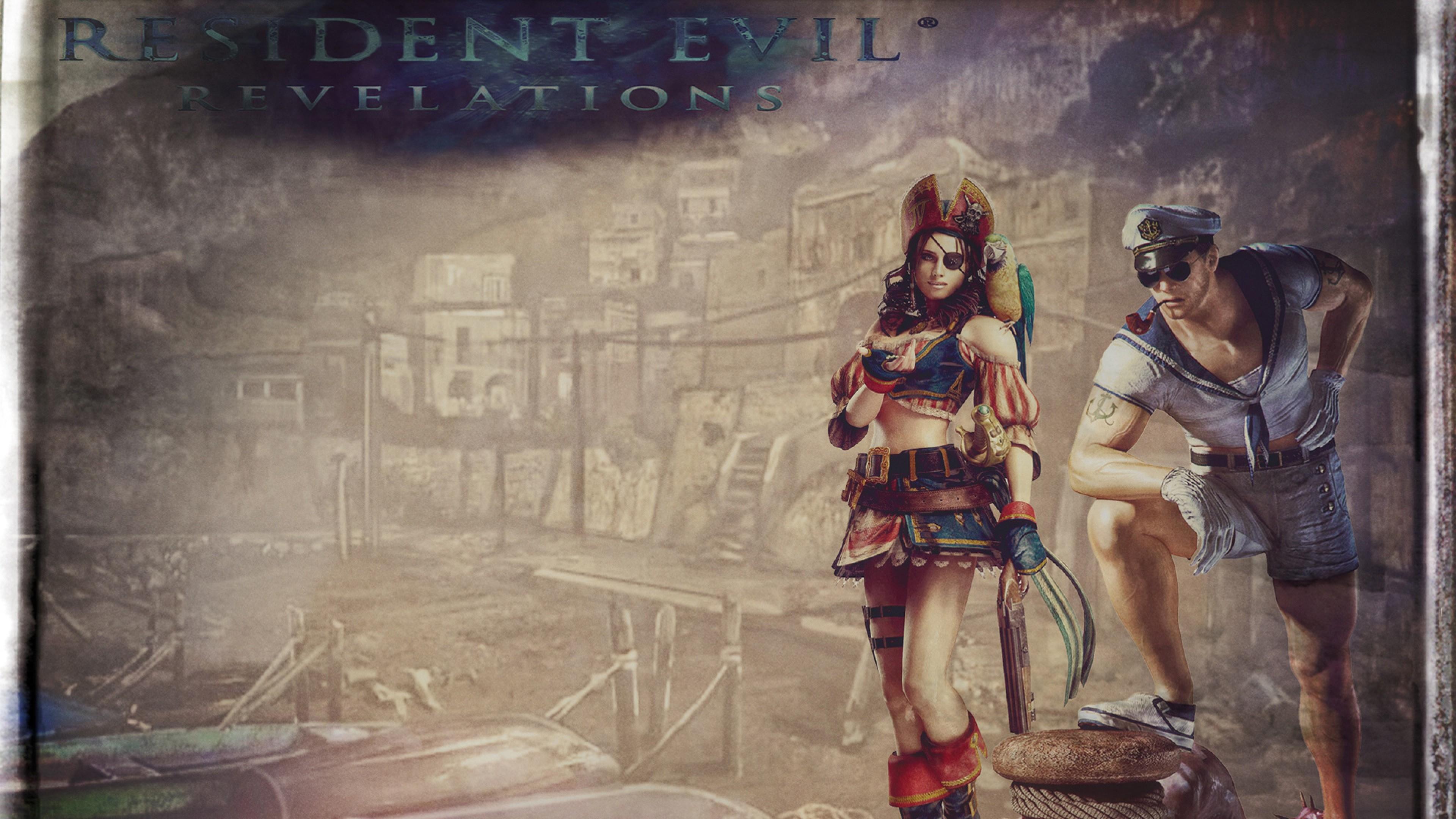 Preview wallpaper resident evil, resident evil revelations, jill valentine,  hydra, biohazard revelations