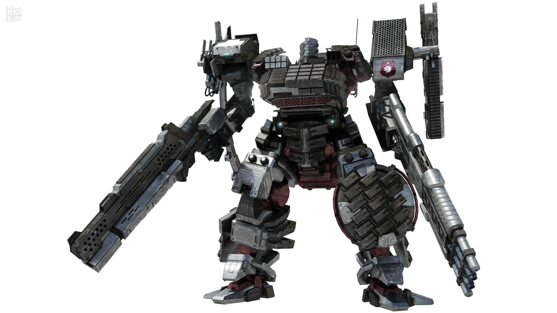 Armored Core 5 – game artworks at Riot Pixels