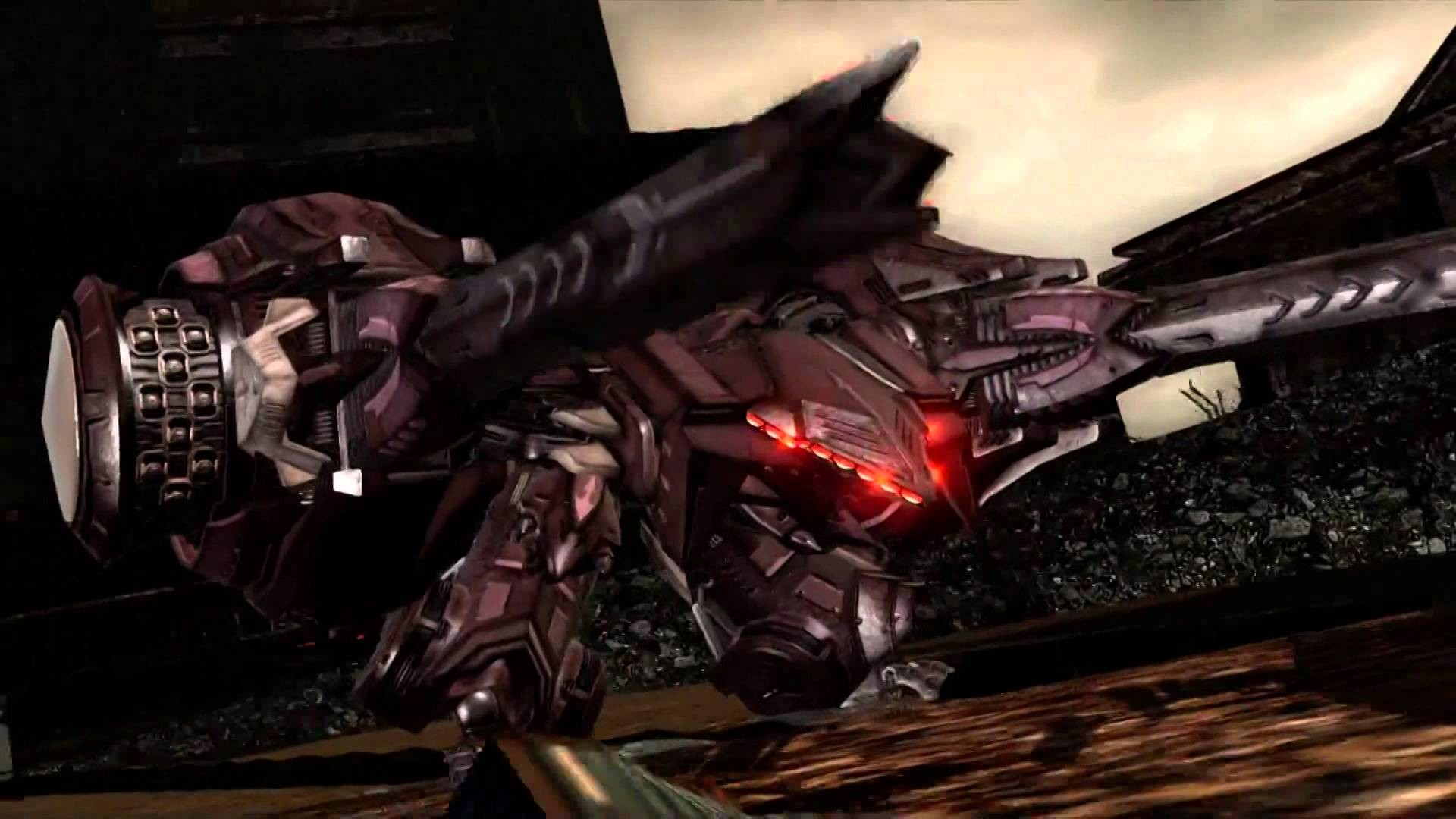 Armored Core: Verdict Day – All Unidentified Weapons Cutscenes – YouTube