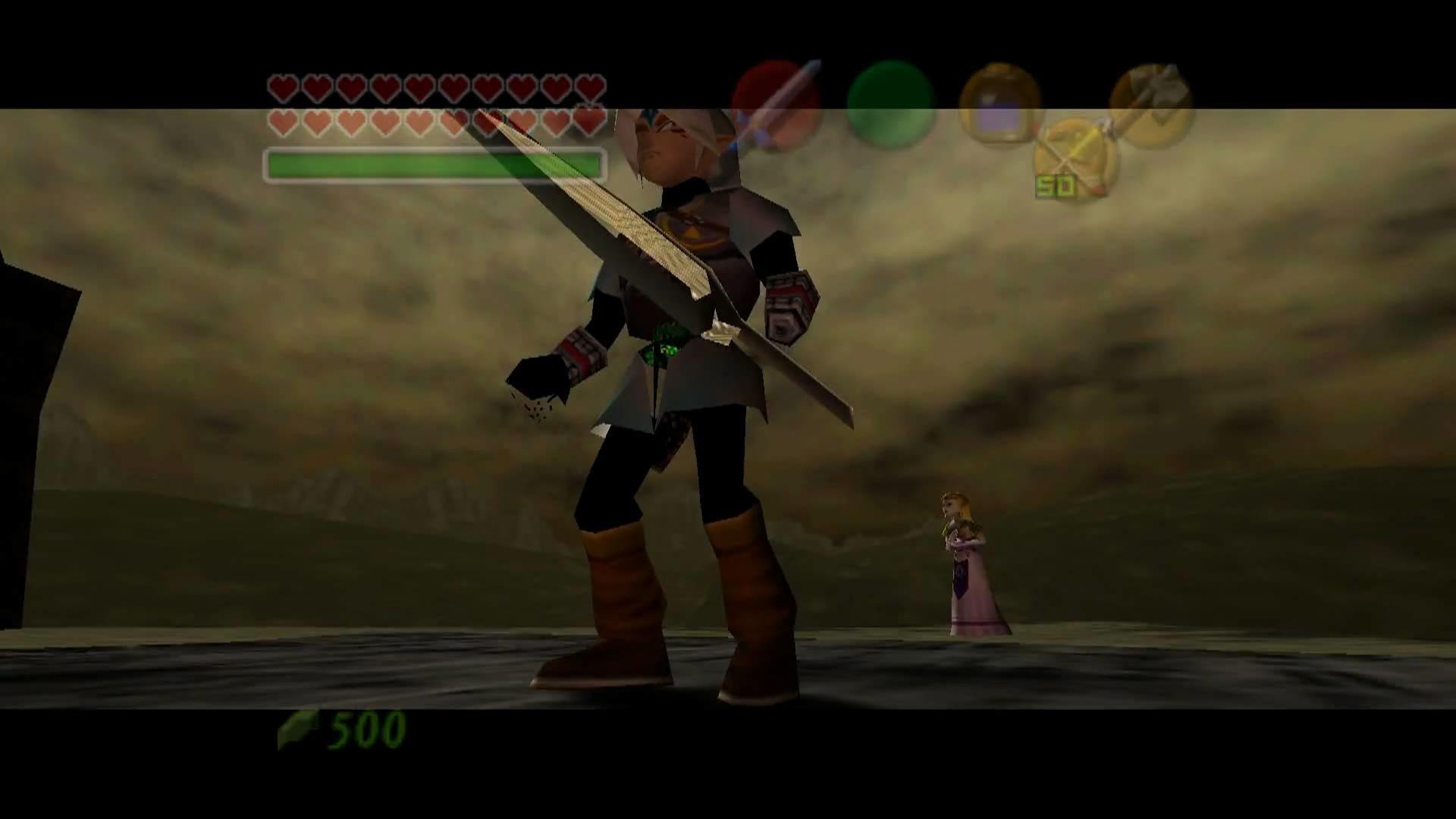 Fierce Deity vs Ganon in The Legend of Zelda: Ocarina of Time / Master  Quest True Widescreen – YouTube