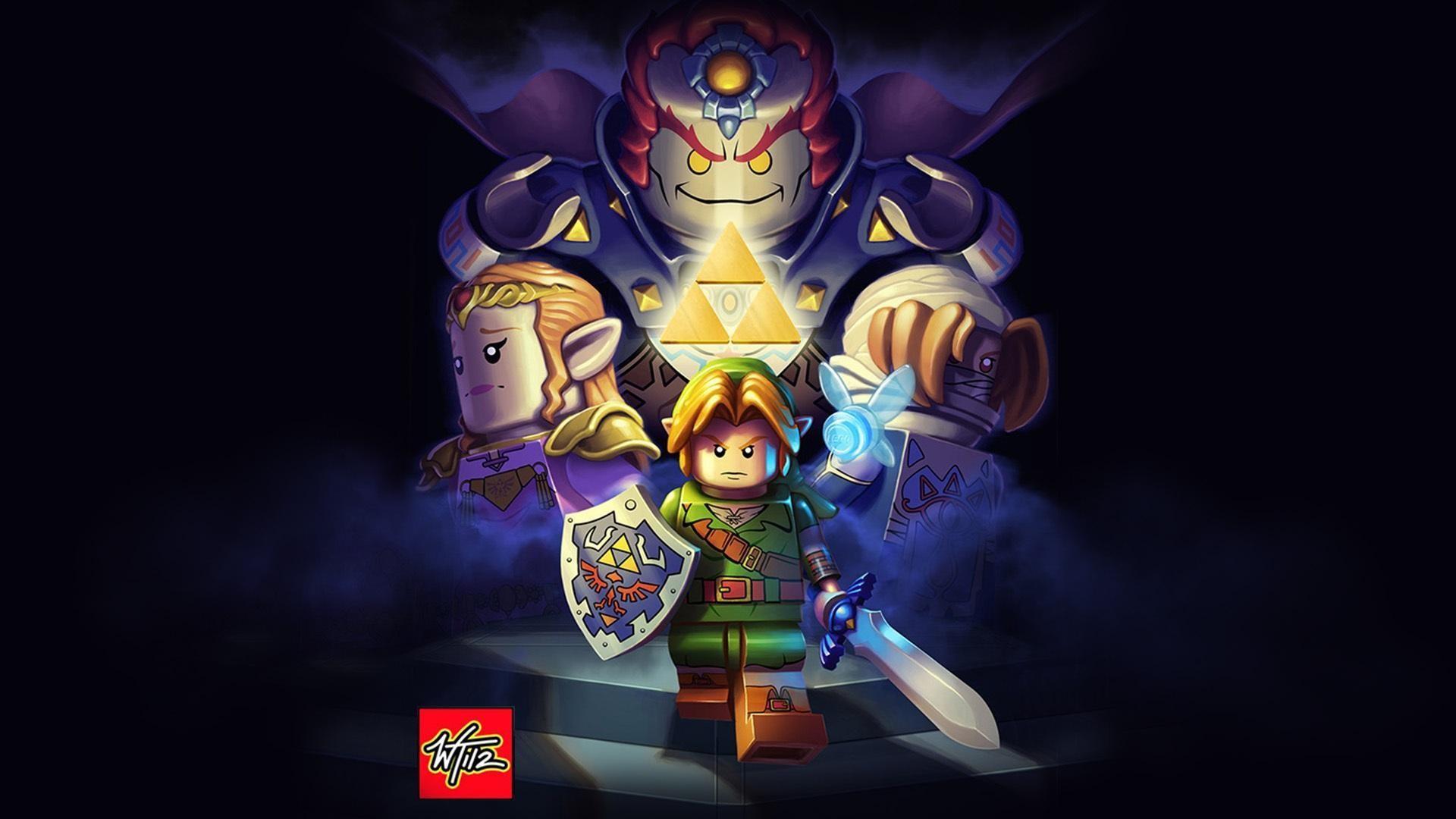 Video Game – The Legend Of Zelda: Ocarina Of Time Ganondorf Hylian Shield  Master Sword