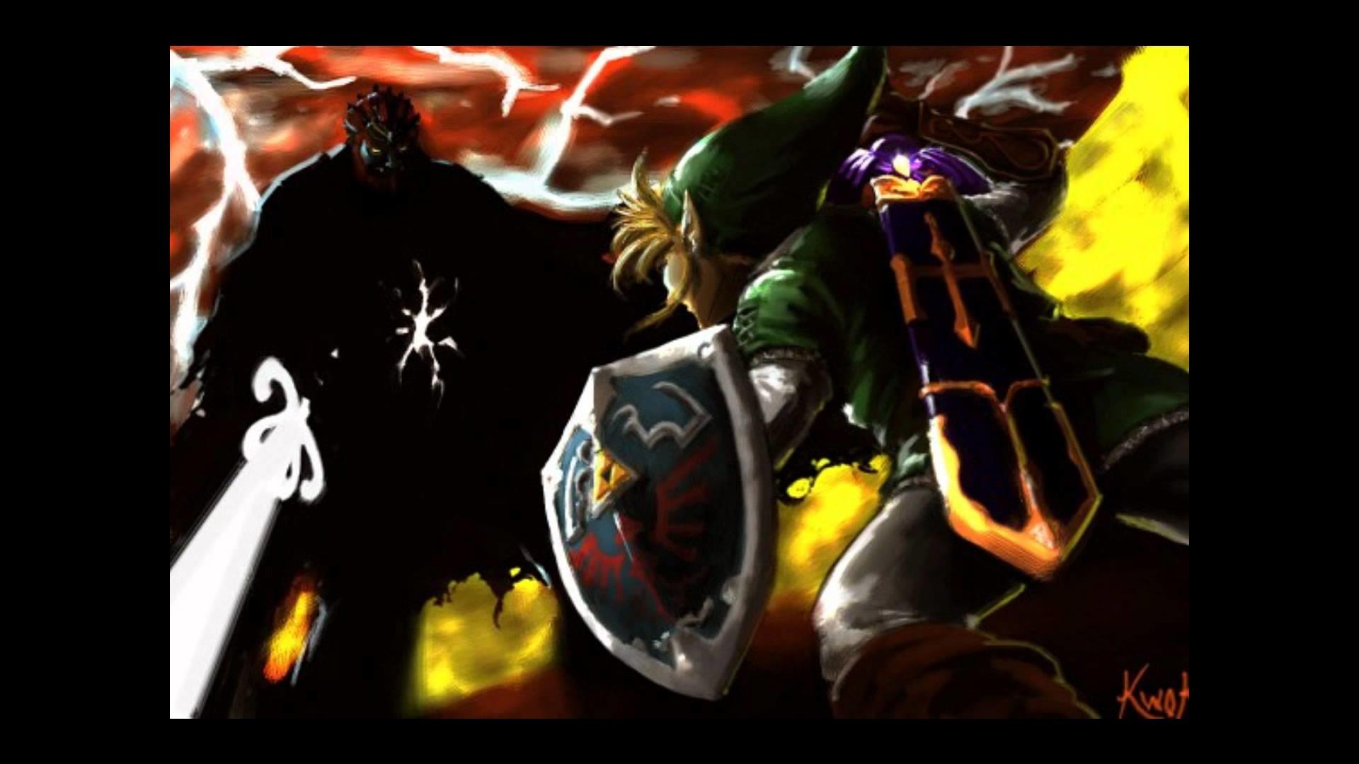 [The Legend of Zelda Twilight Princess] Final Boss Dark Lord Ganondorf  -SwordFight-