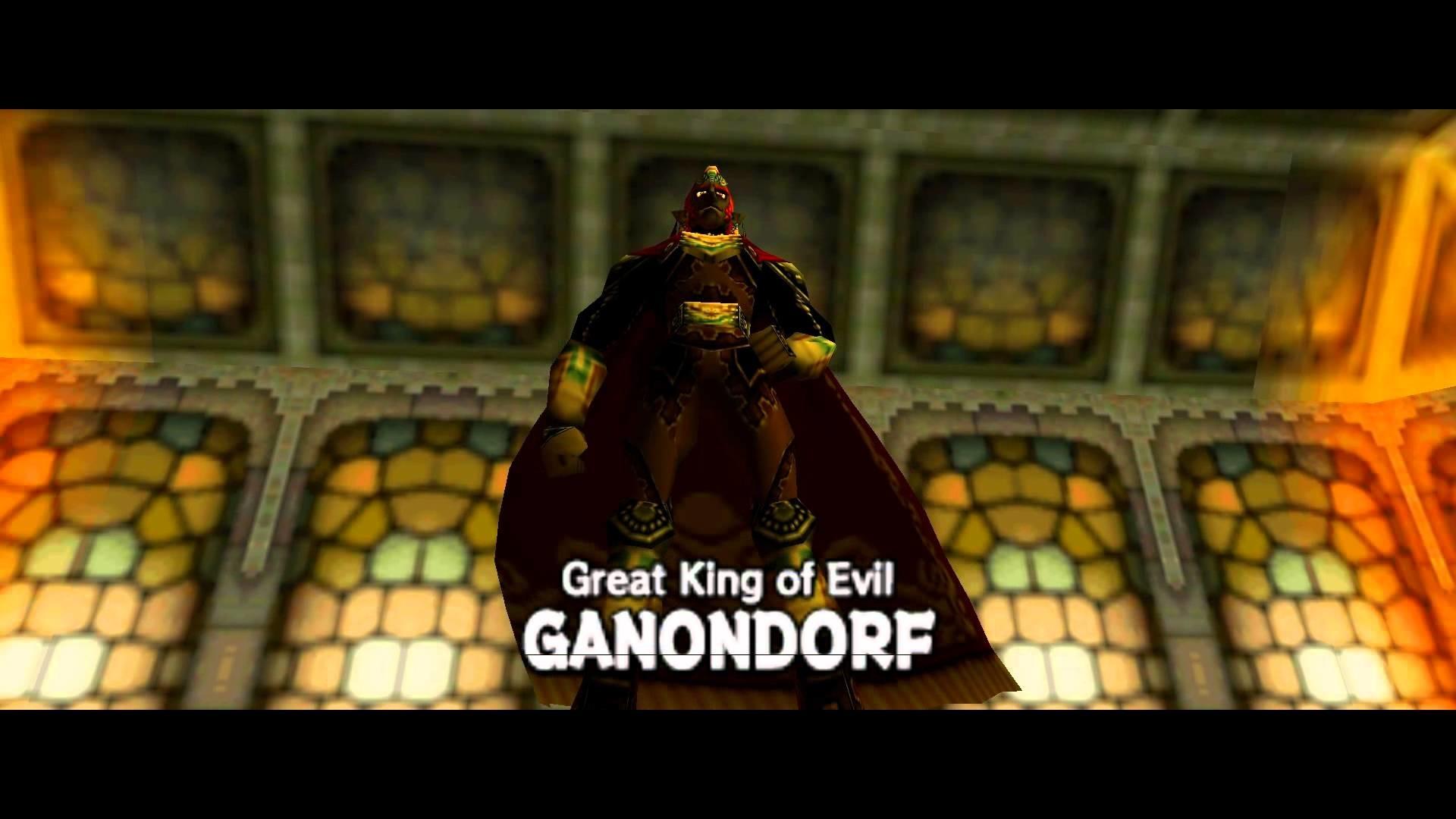 Legend of Zelda: Ocarina of Time – Boss: Great King of Evil Ganondorf [