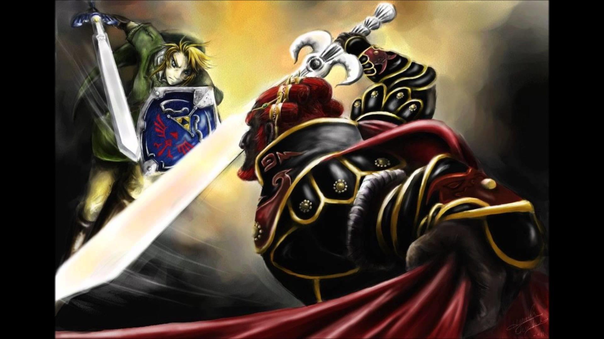 Zelda-Twilight Princess Dark Lord Ganondorf Shadow Remix