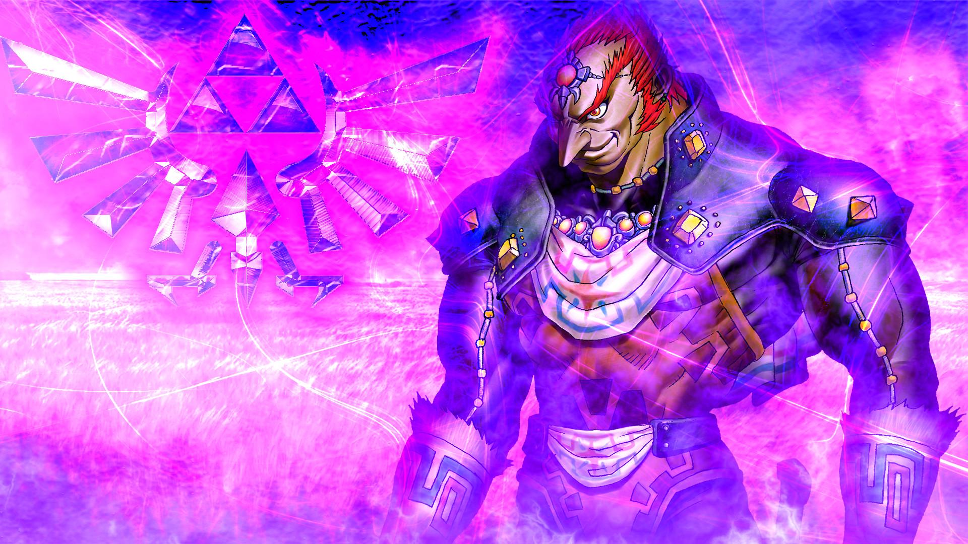 Ganondorf Purple Version:. by LivingDeadSuperstar