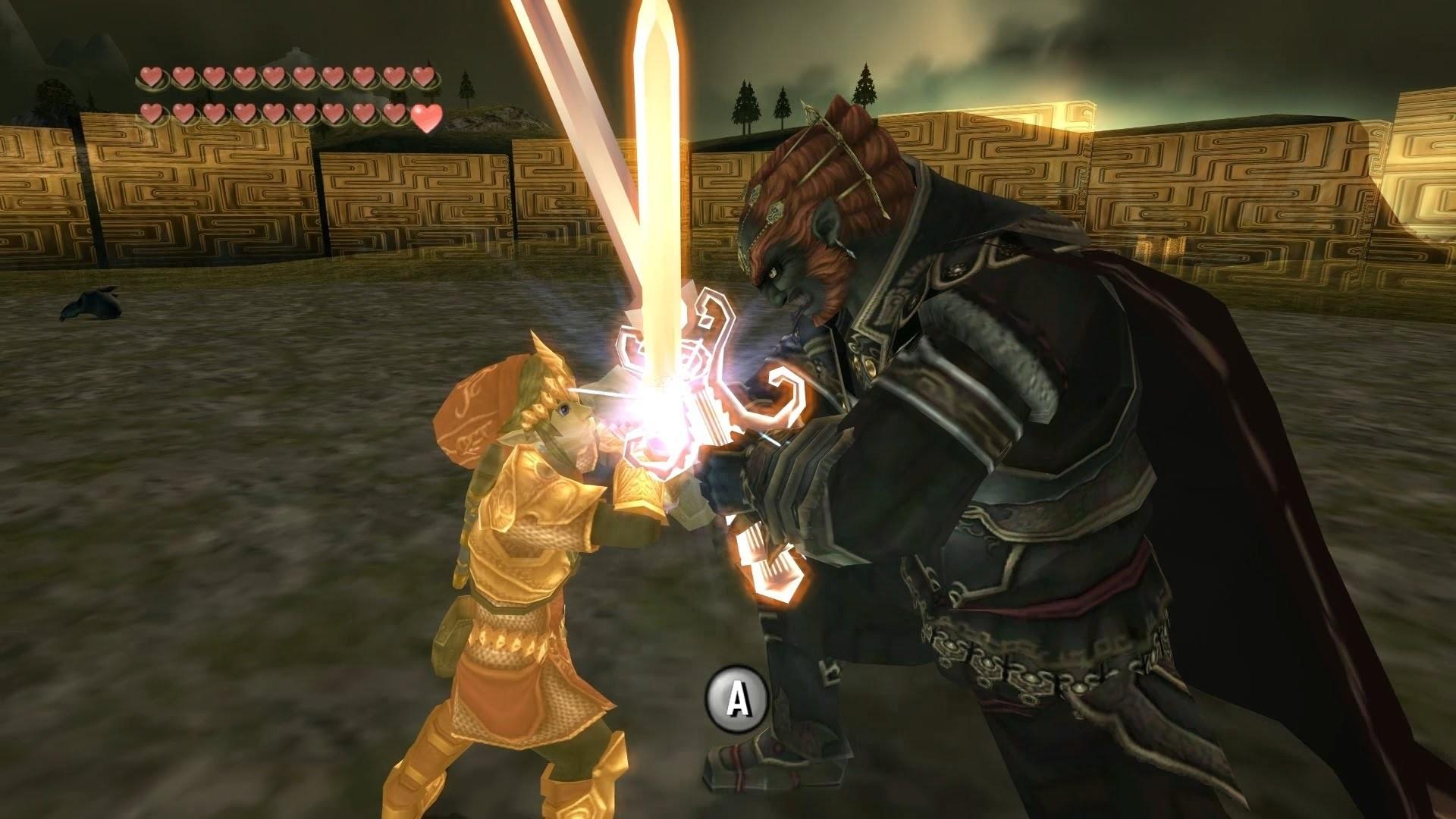 [HD] Zelda Twilight Princess Final Boss – Ganondorf Duel (Magic Armor) –  YouTube