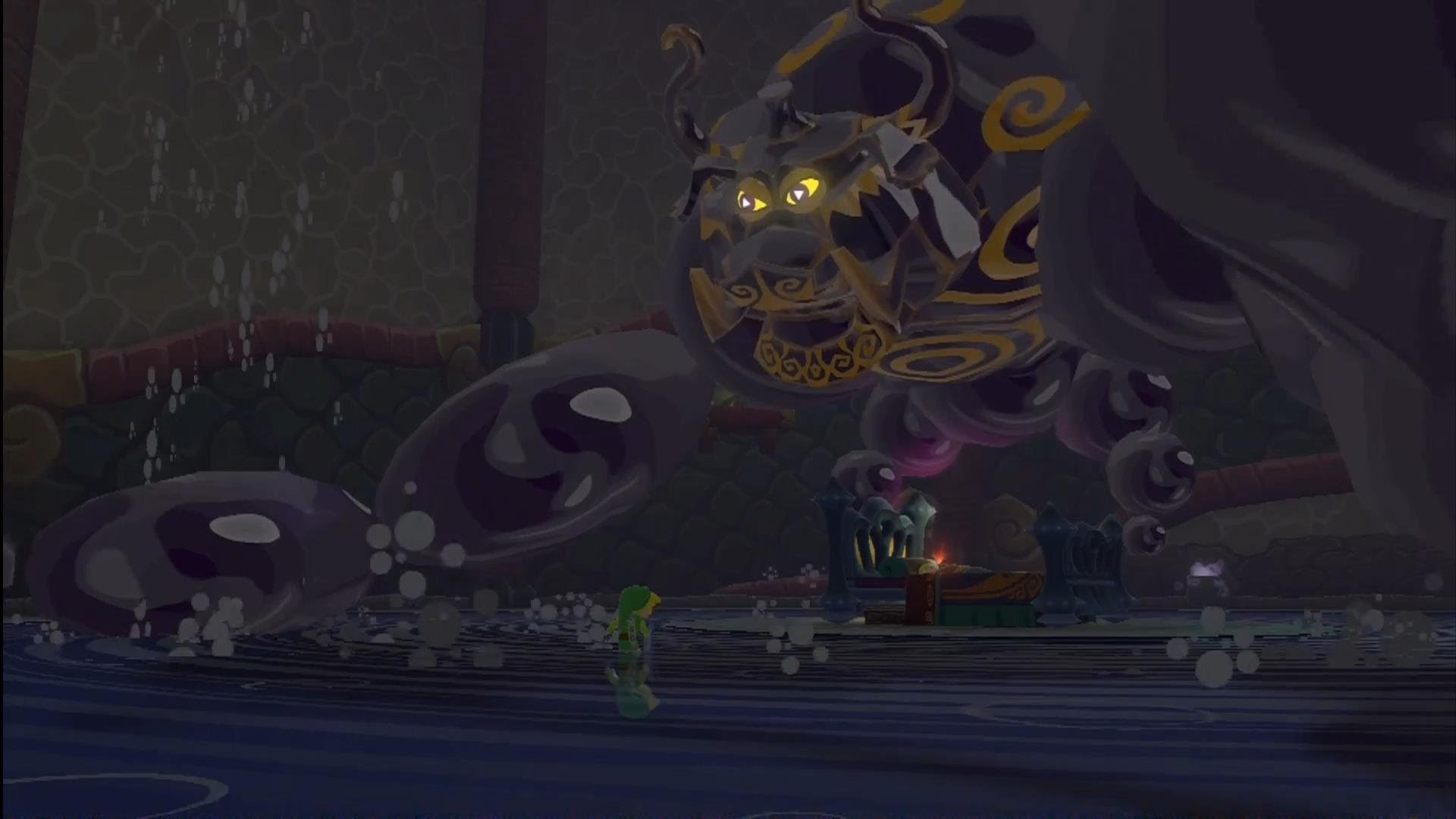 The Legend of Zelda: The Wind Waker HD – Puppet Ganon Boss Battle