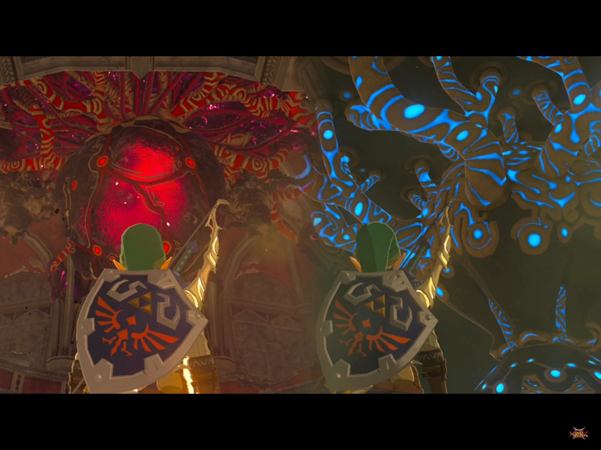 [Spoilers] this blew my mind… calamity ganon cocoon and shrine of  resurrection …