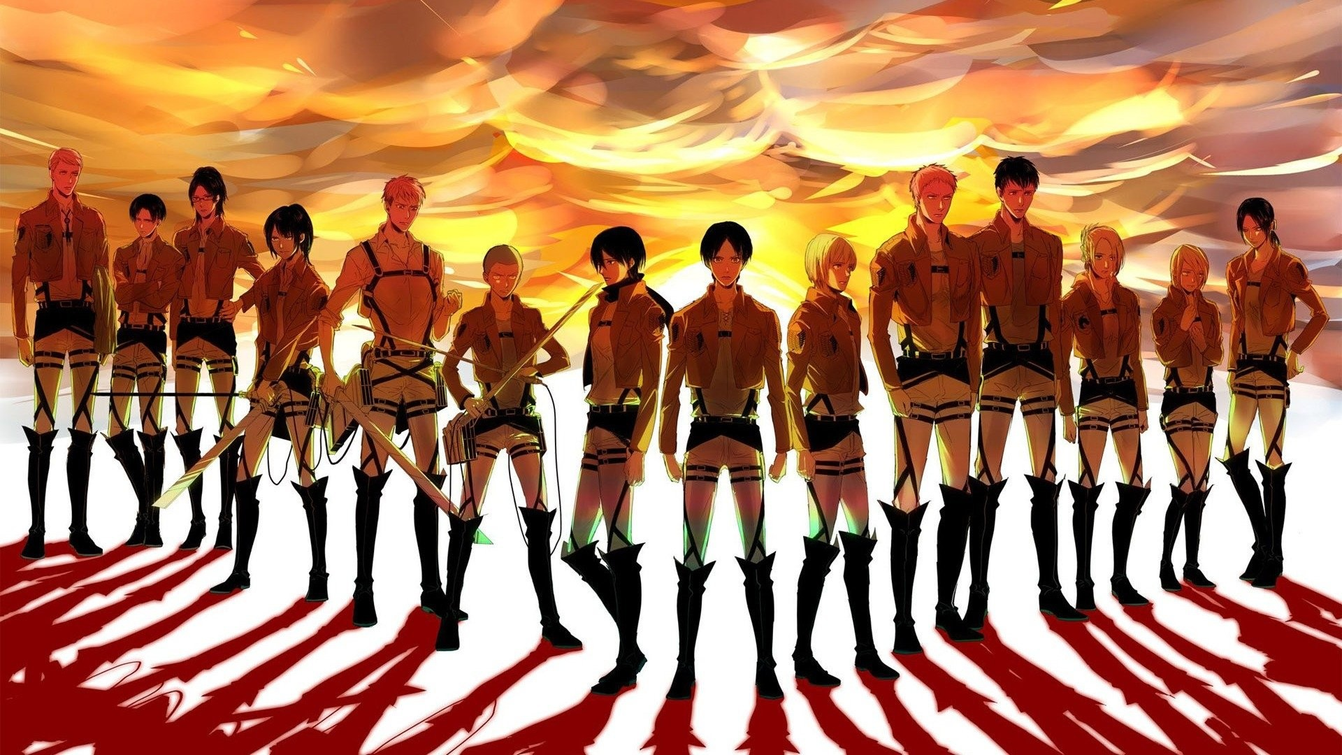 HD Wallpaper   Background ID:612515. Anime Attack On Titan