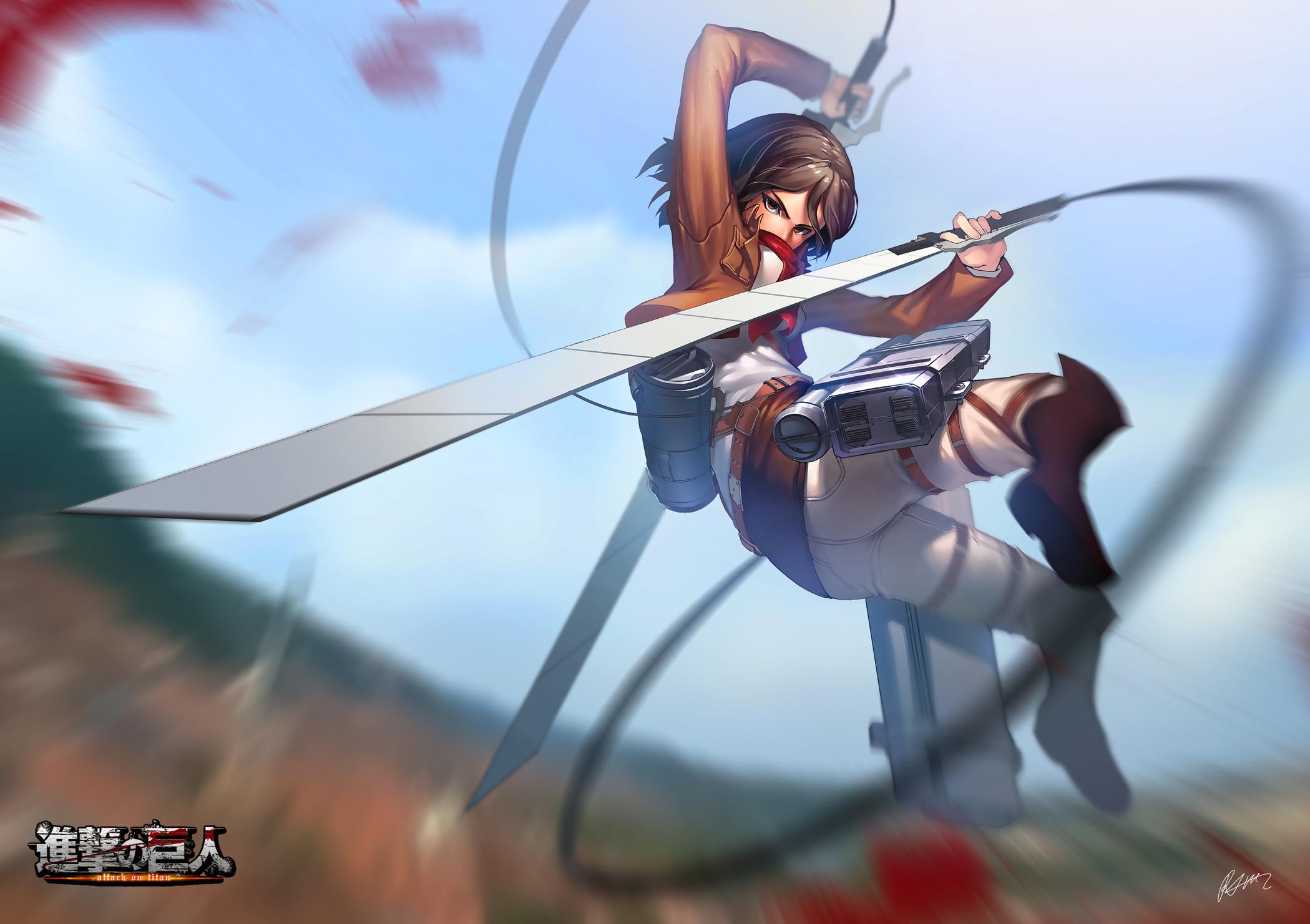 Mikasa Ackerman – Shingeki no Kyojin / Attack on Titan,Anime