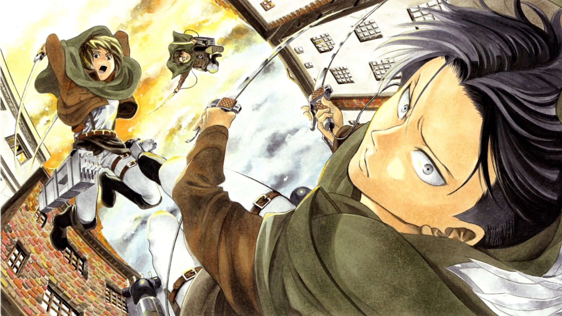 GGWallpaper – shingeki no kyojin attack on titans eren mikasa  armin2803103_HD wallpaper   Shingeki no Kyojin