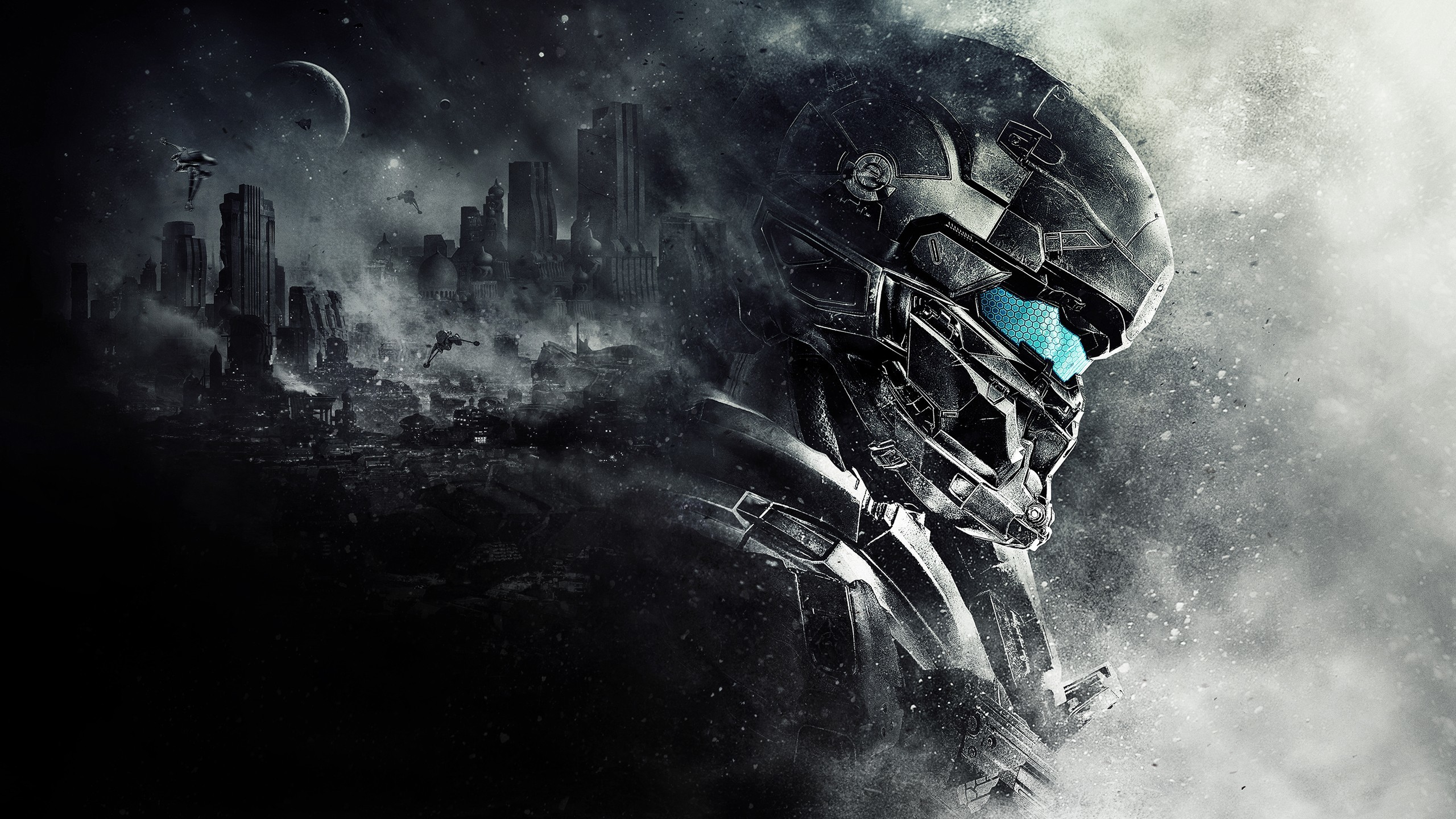 Spartan Locke Halo 5 2048×1152 Resolution