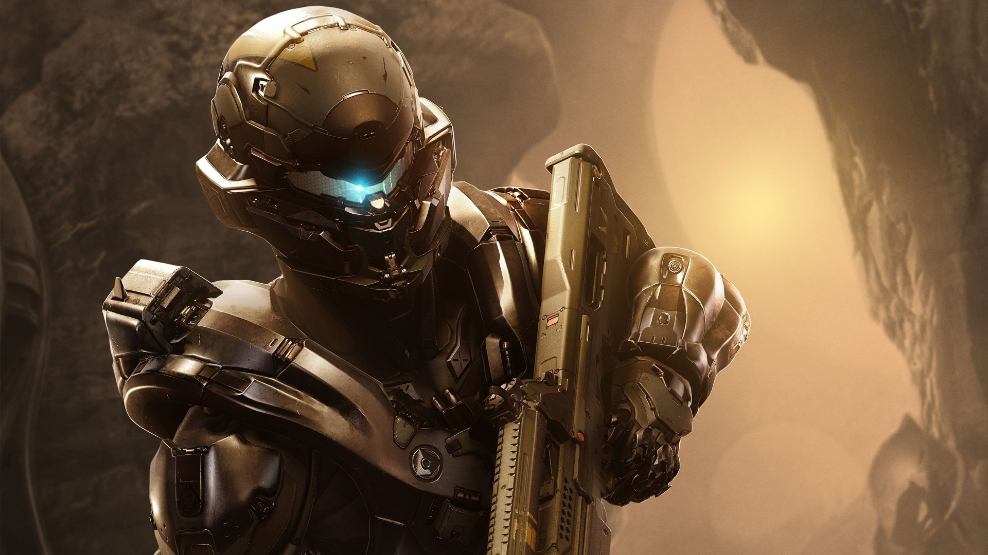 Halo 5, Video Games, Spartans, Armor, Weapon, Spartan Locke Wallpapers HD /  Desktop and Mobile Backgrounds