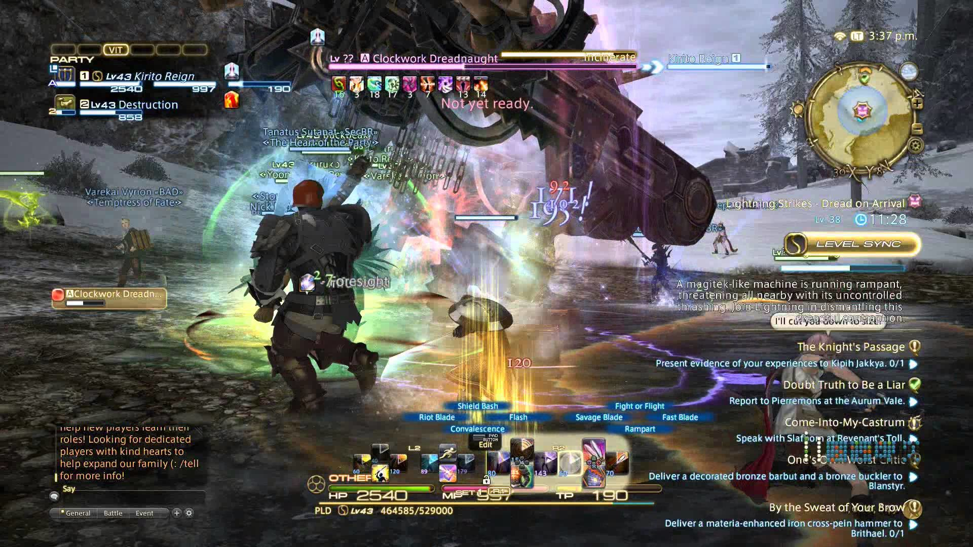 The Knight's Passage! FFXIV: A Realm Reborn Gameplay Walkthrough Part  139(PS4) – YouTube