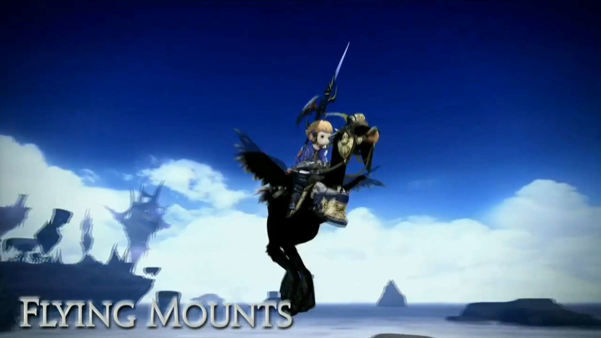 Final Fantasy XIV Dark Knight and Flying Mounts Confirmed, Gunner Teased;  Lots of New Expansion Info and Pictures Shared
