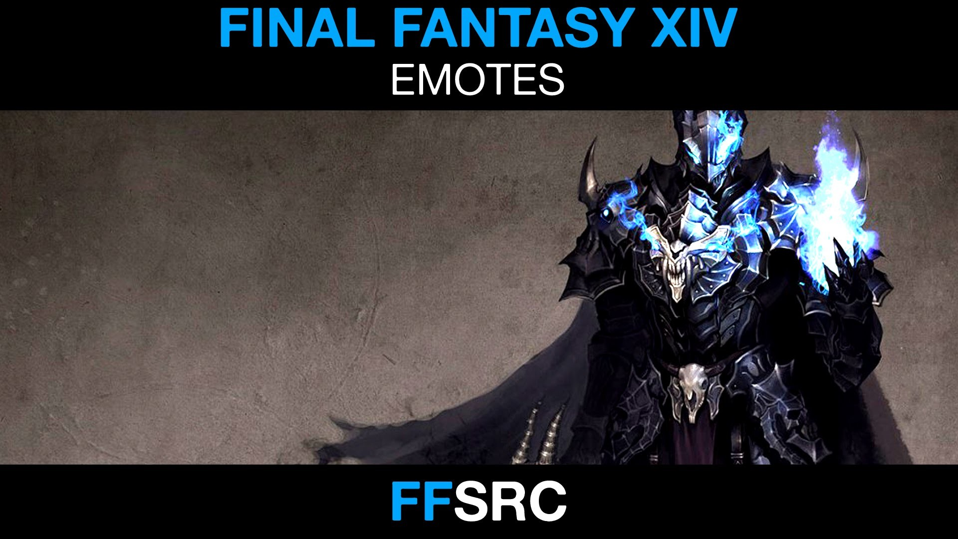 Final Fantasy XIV – Battle Stance and Victory Pose – Dark Knight – YouTube