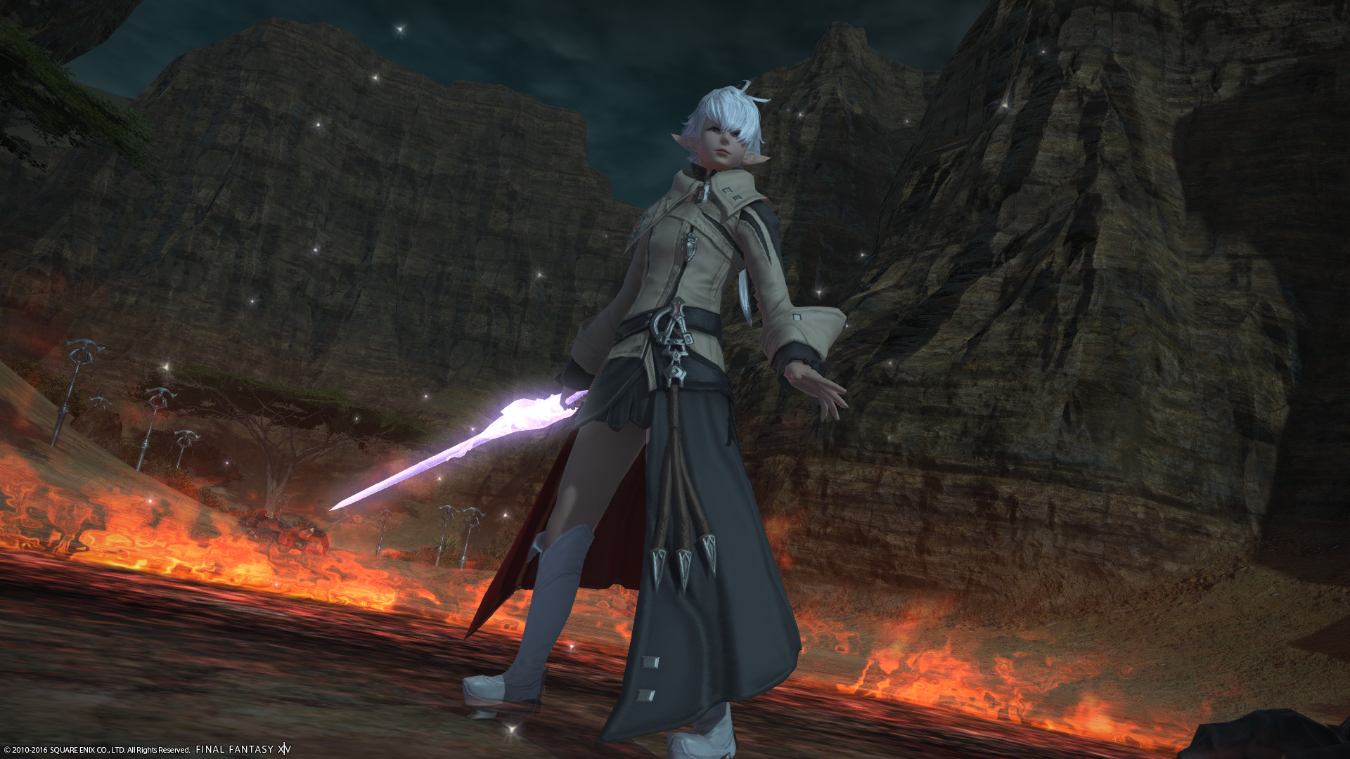 Alisaie here, I believe is the main representation of Red Mage. Why? Well,  the dev team tends to enjoy throwing out easter eggs like this.