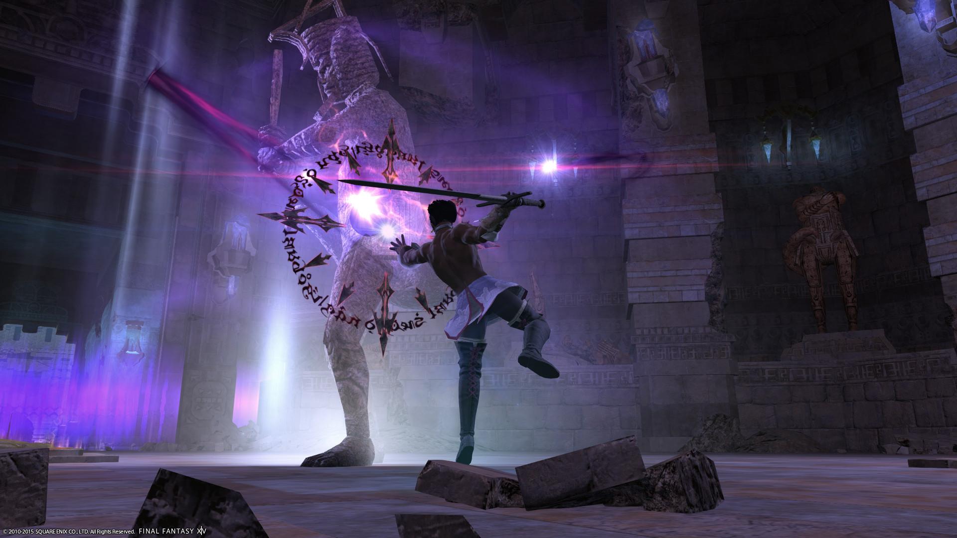 [Screenshot]I took my Dark Knight tomb raiding.