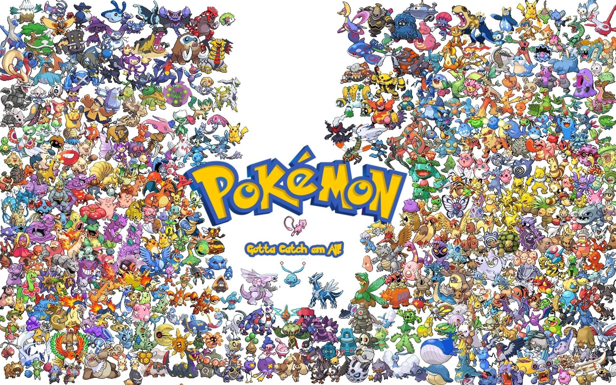 All Legendary Pokémon Wallpapers Wallpaper 2048×1280