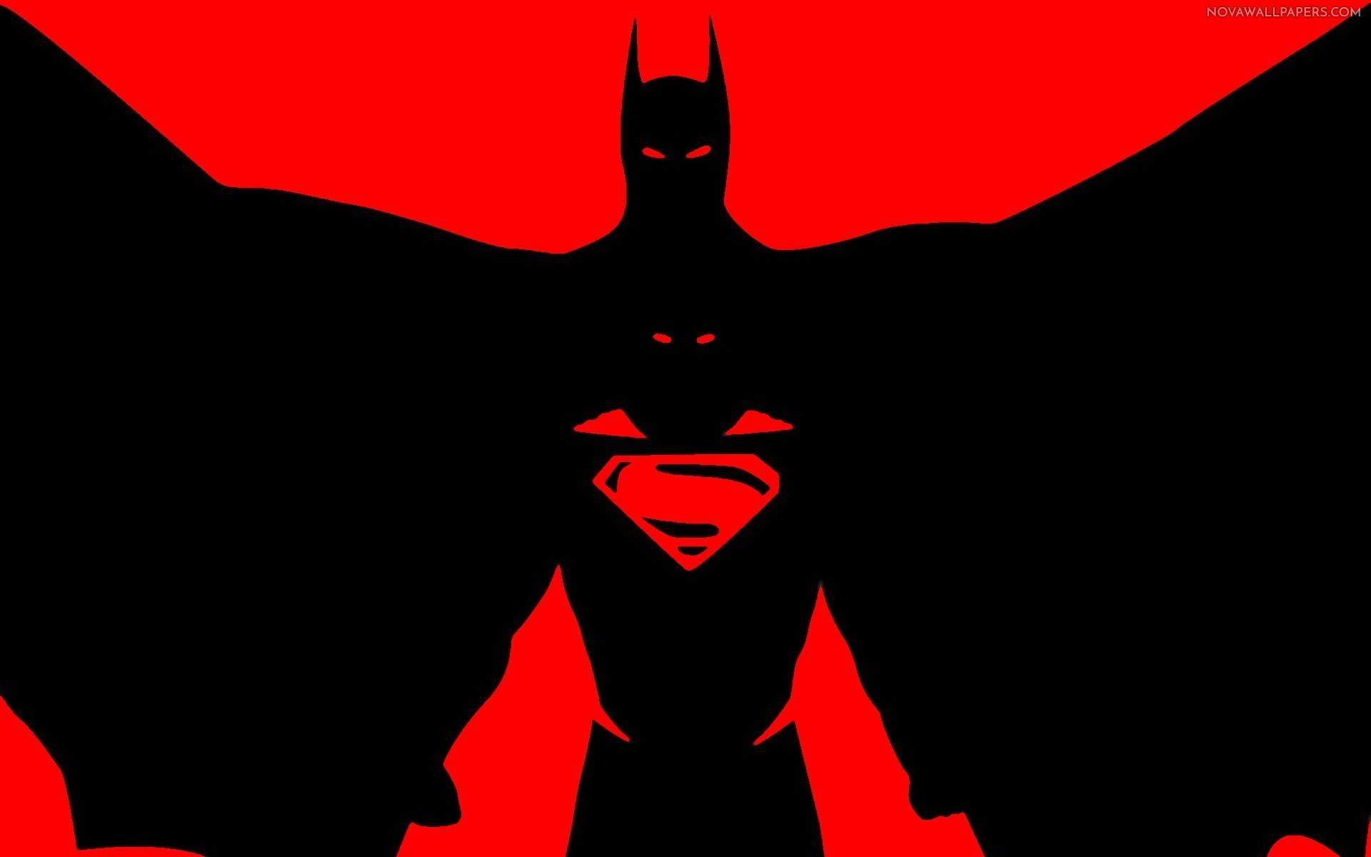 batman vs superman dark art