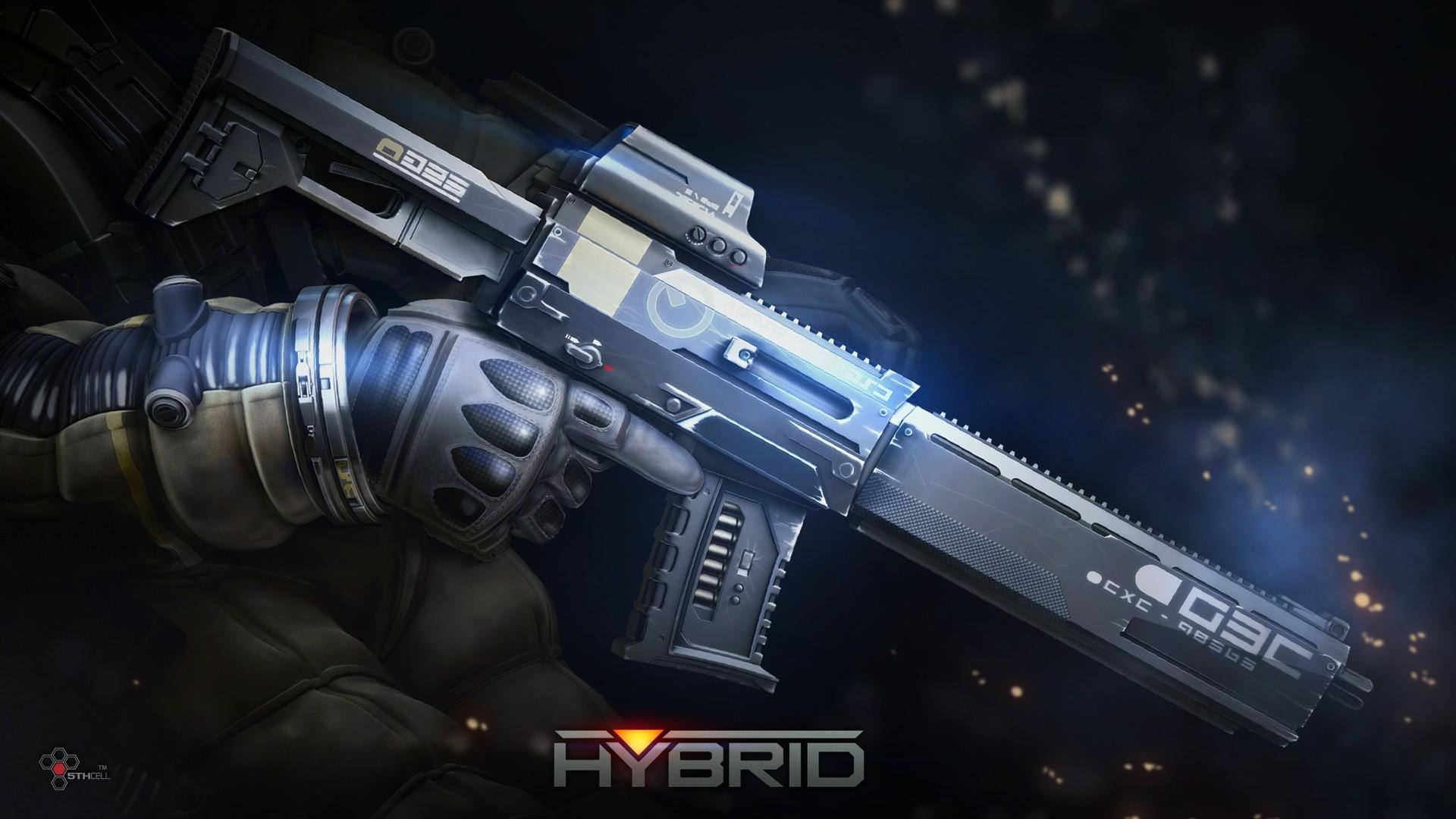 Hybrid Weapon – Hybrid Wallpaper