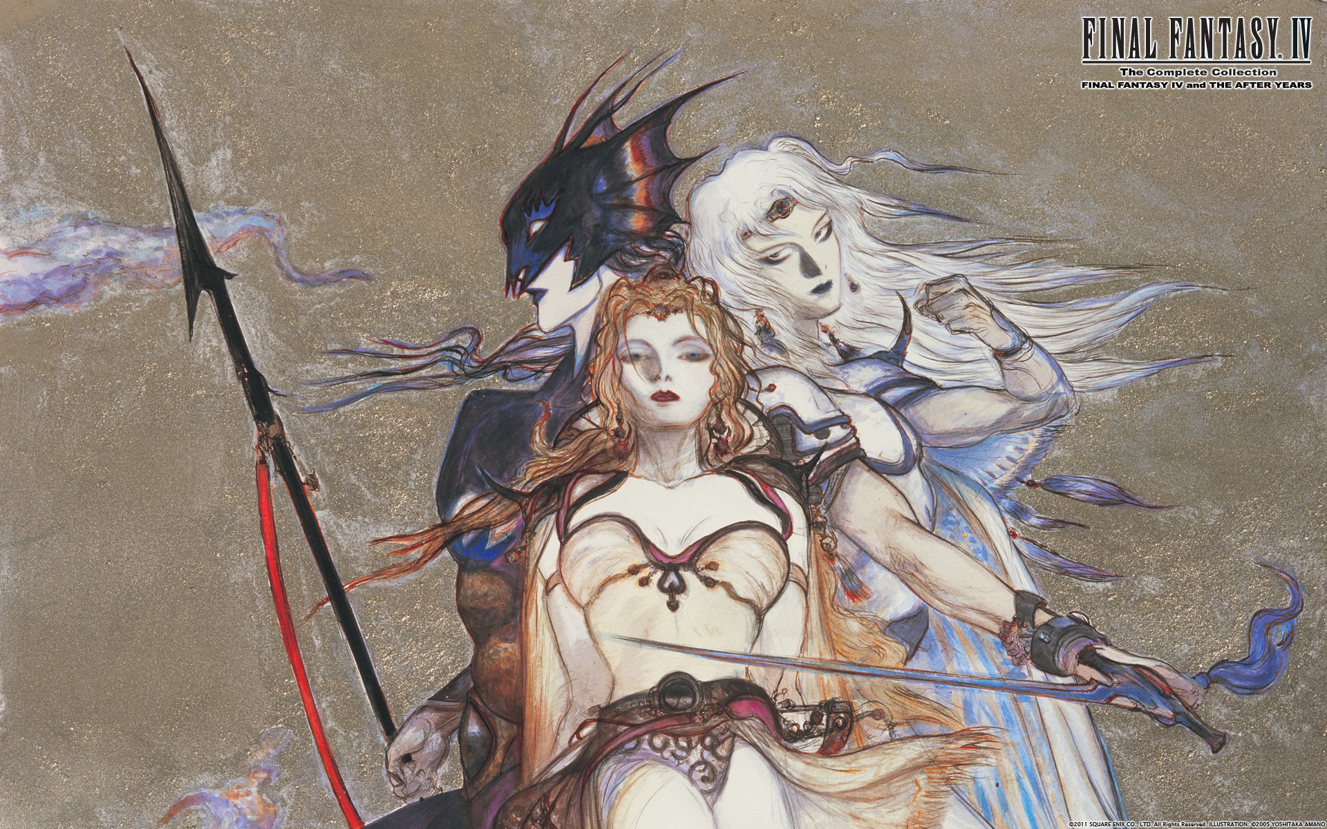Video Game – Final Fantasy IV Cecil Harvey Kain Highwind Rosa Joanna  Farrell Wallpaper