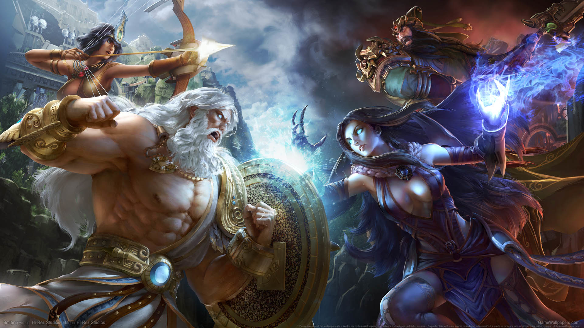 Smite Awesome Photo | 780741058 Smite Wallpapers, 1920×1080