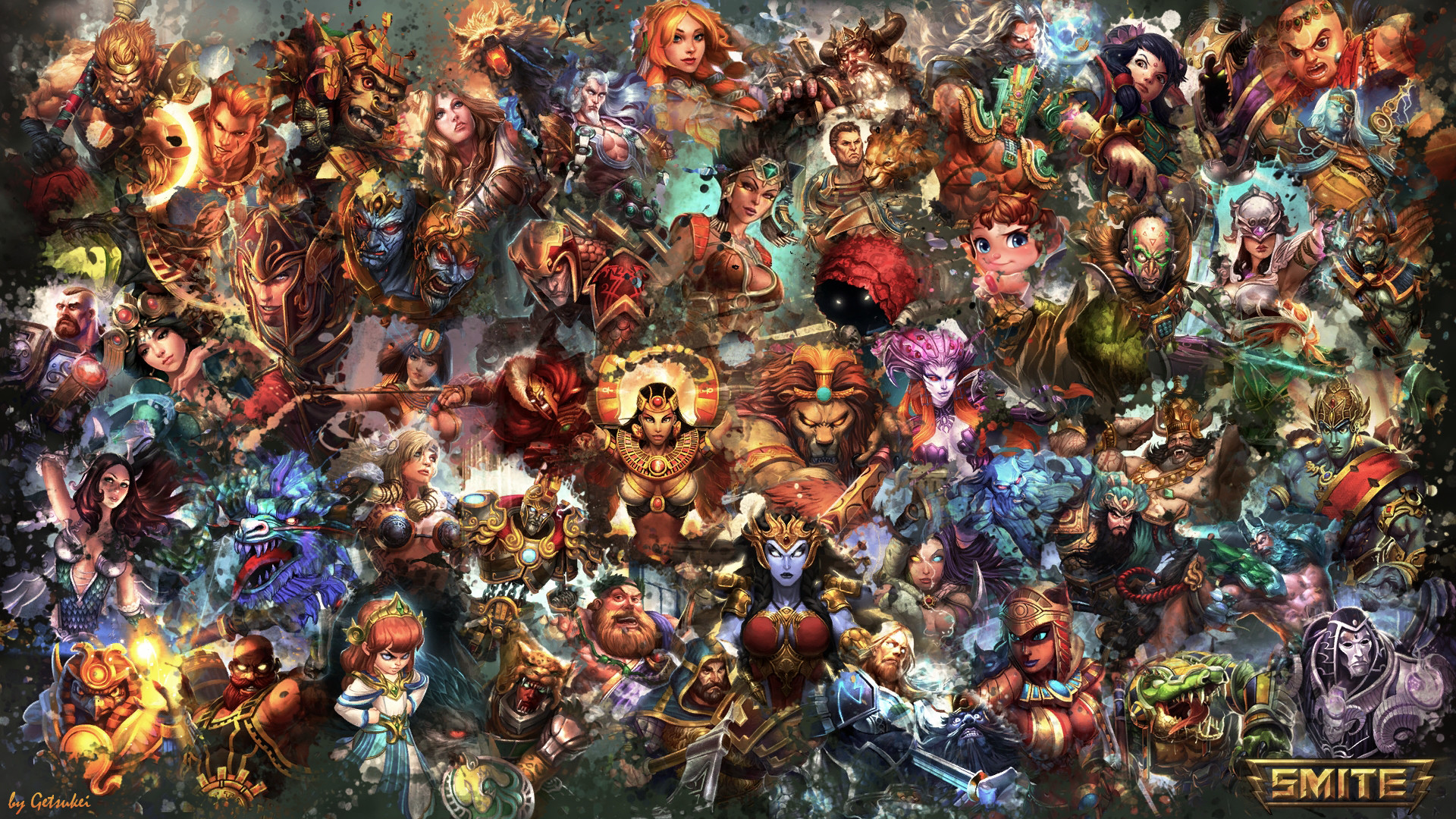 Video Game – Smite Video Game Wallpaper