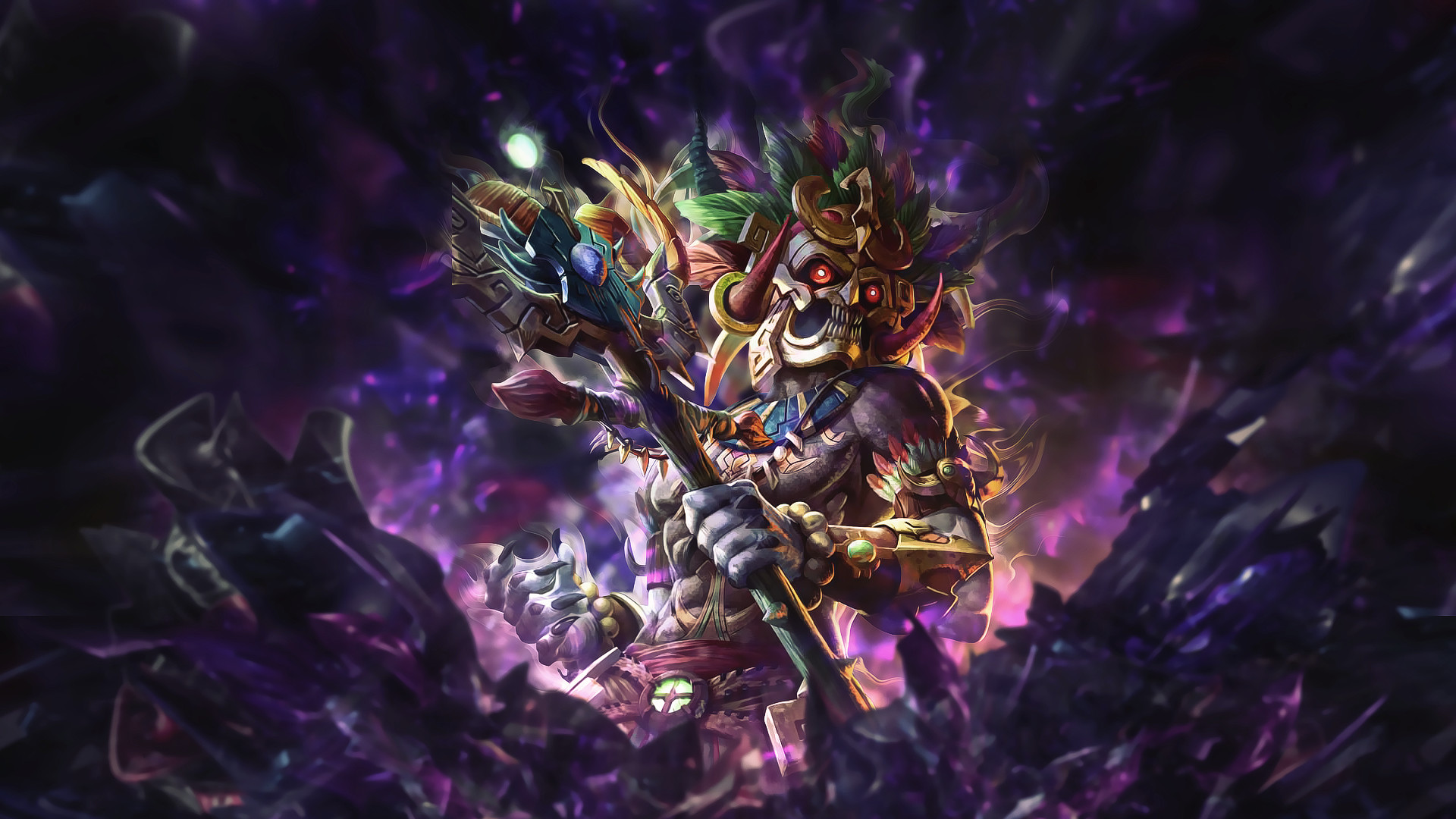 Video Game – Smite Video Game Ah Puch (Smite) Wallpaper