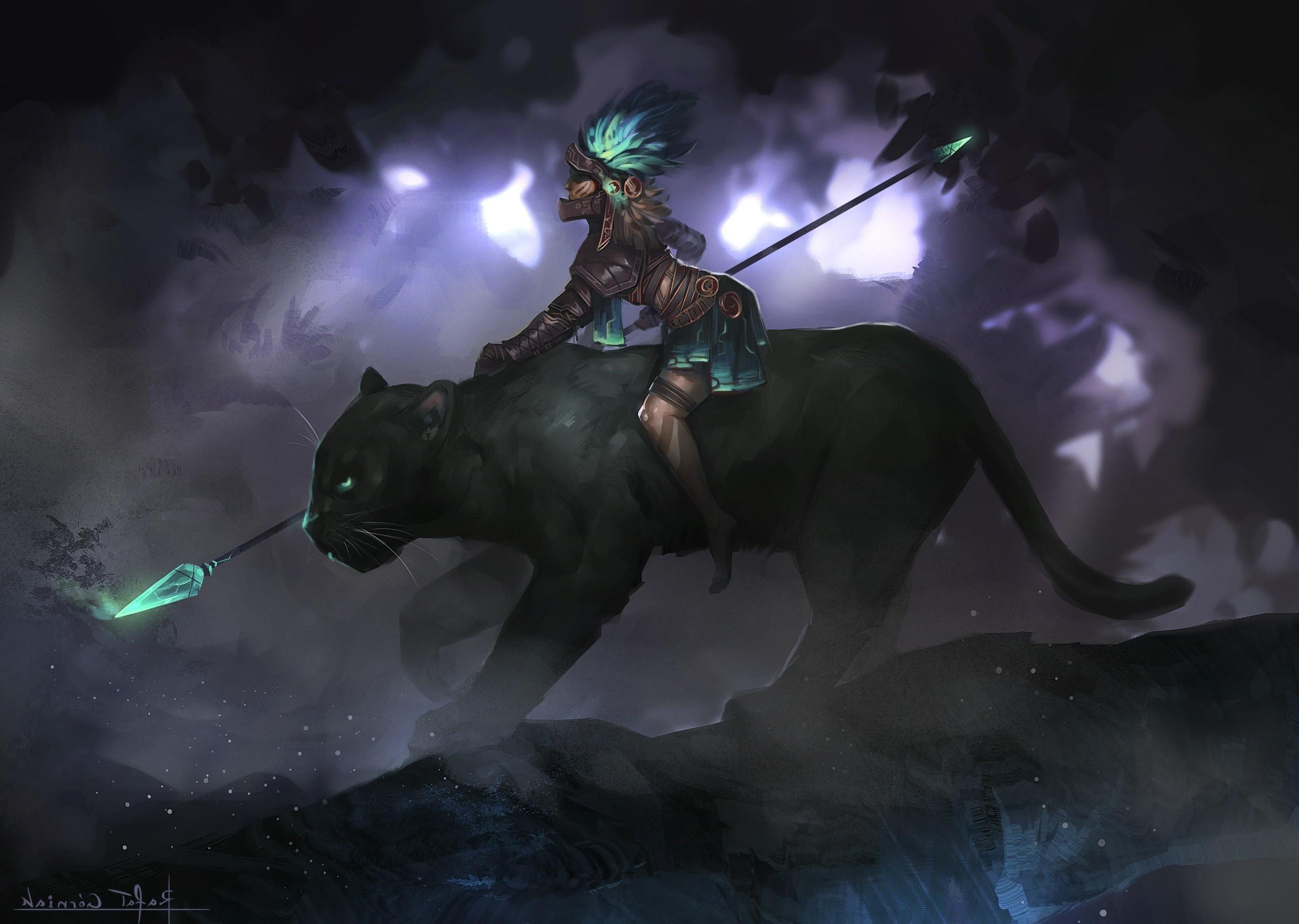 fantasy Art, Warrior, Smite, Awilix Wallpapers HD .