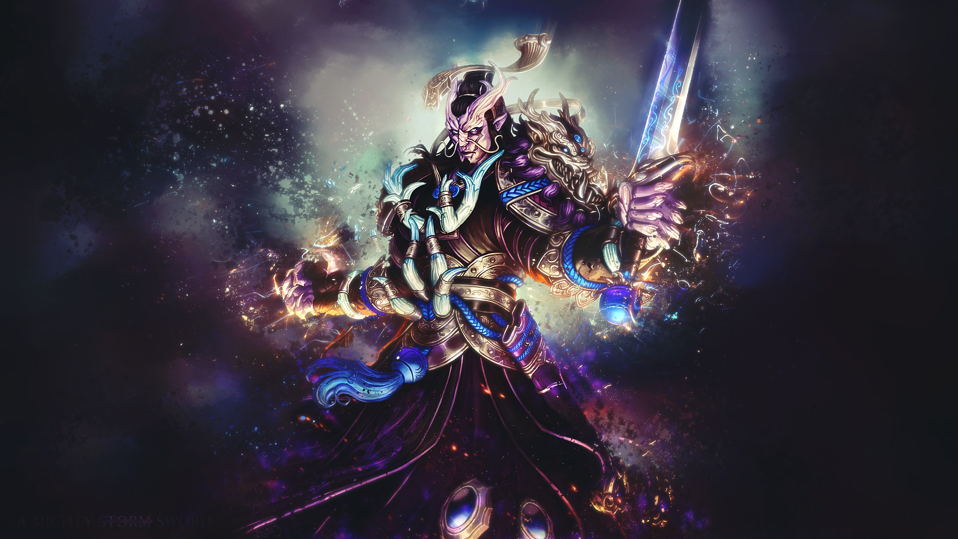 Video Game – Smite Ao Kuang (Smite) Video Game Wallpaper