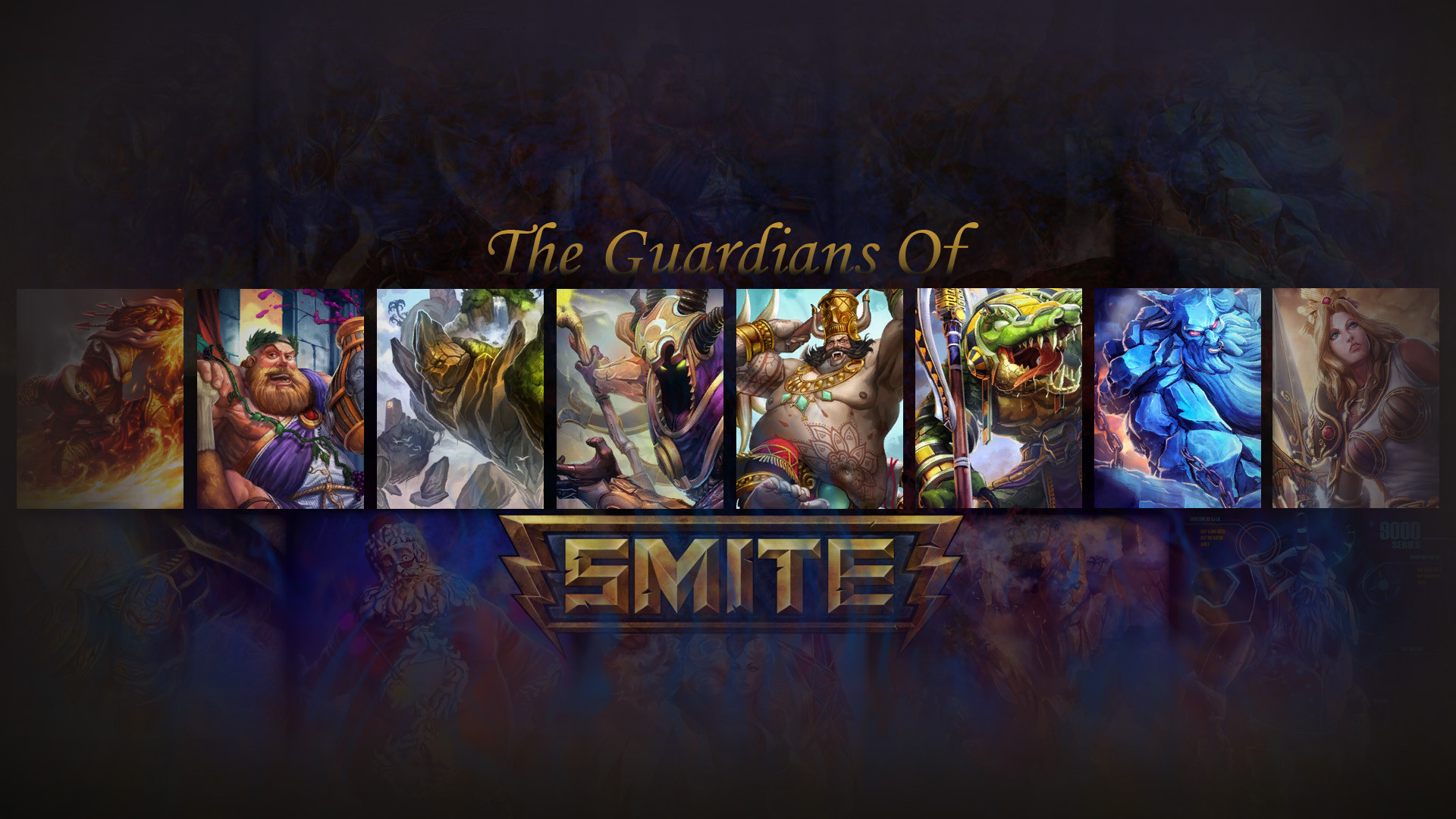 Wallpaper: Tribute to the Guardians of SMITE (1920×1080) …