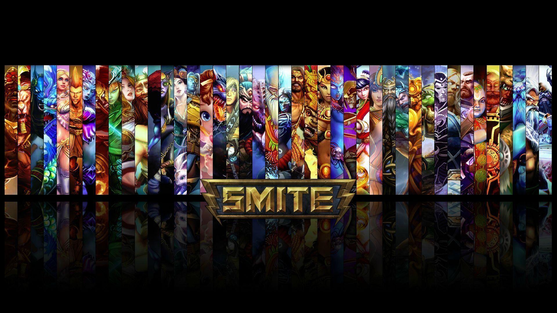 New Smite Wallpaper with ALL GODS – Thanatos Edition : Smite