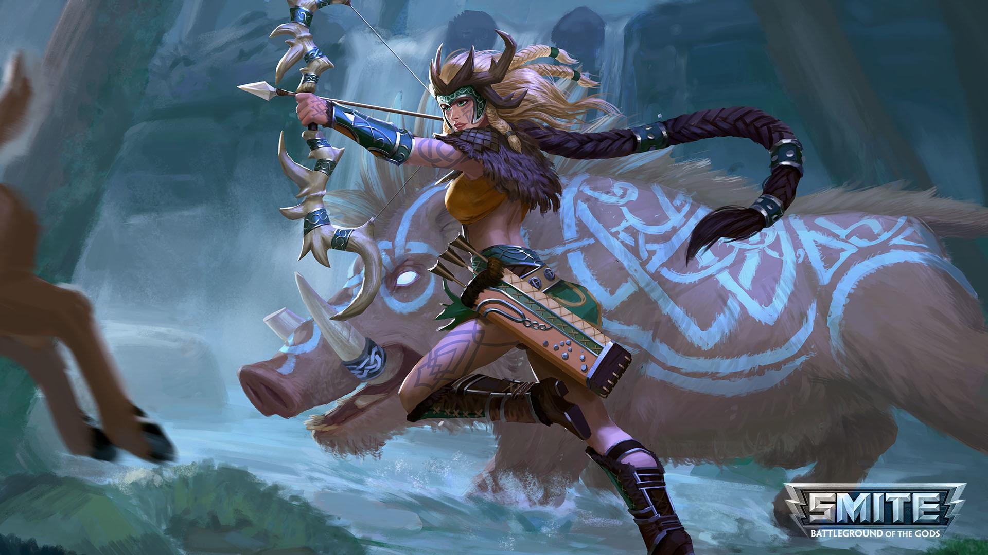 Video Game – Smite Video Game Artemis (Smite) Wallpaper