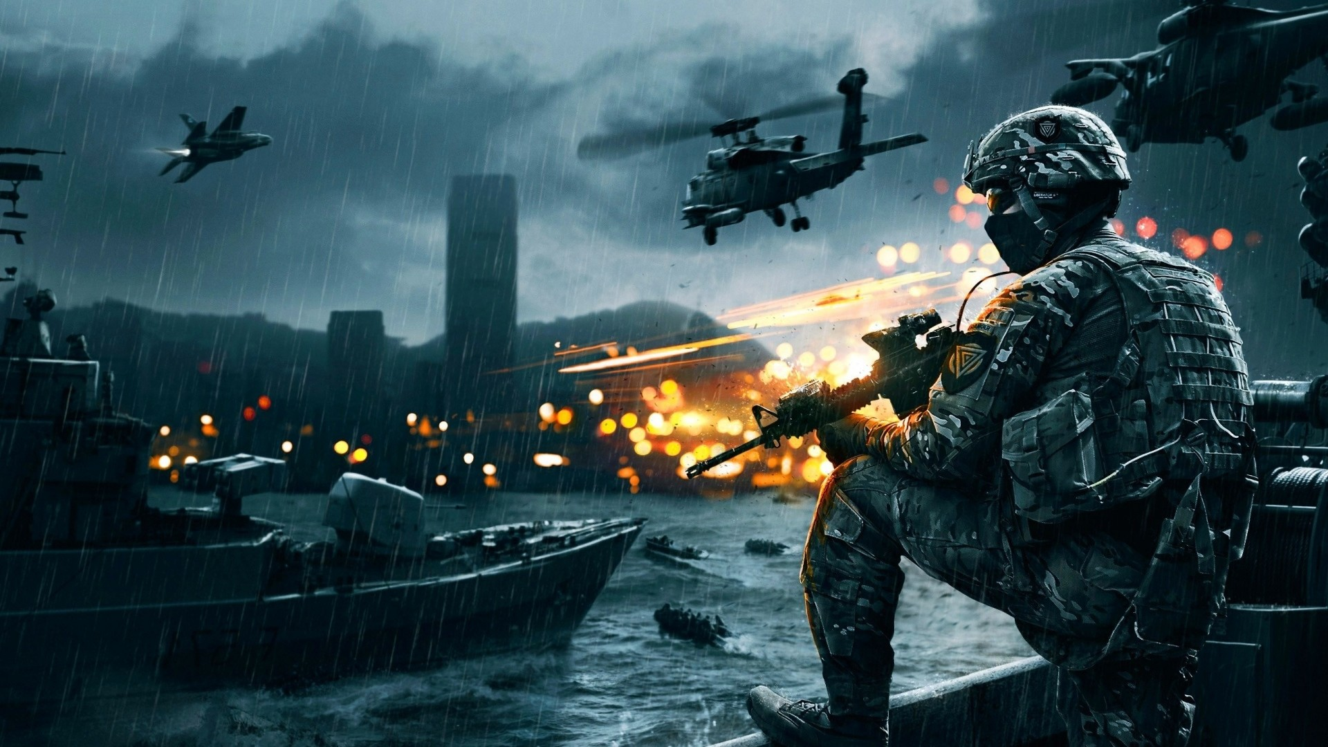 … Background Full HD 1080p. Wallpaper battlefield 4, game, ea  digital illusions ce