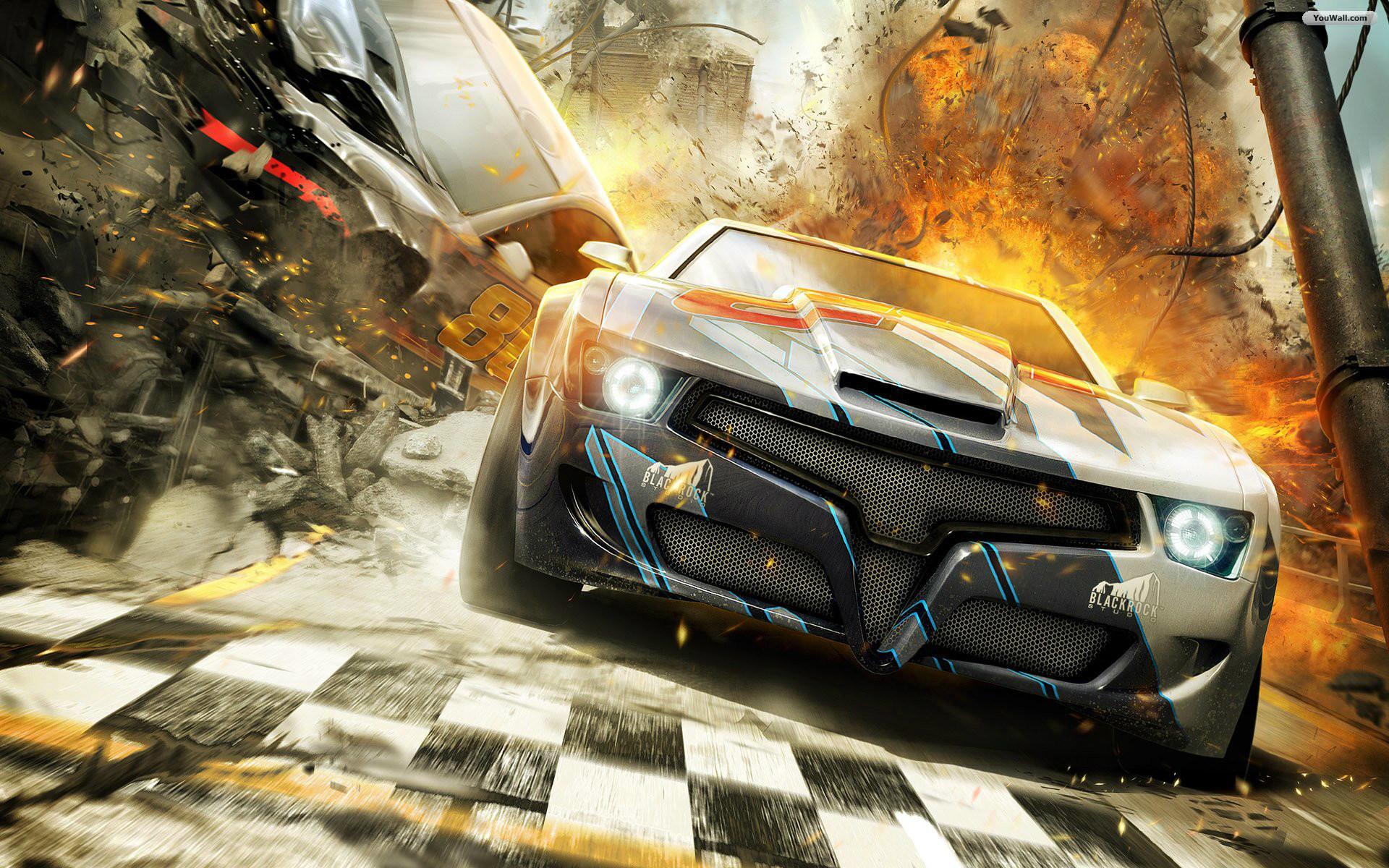 Free Download Car Racing Game Wallpaper