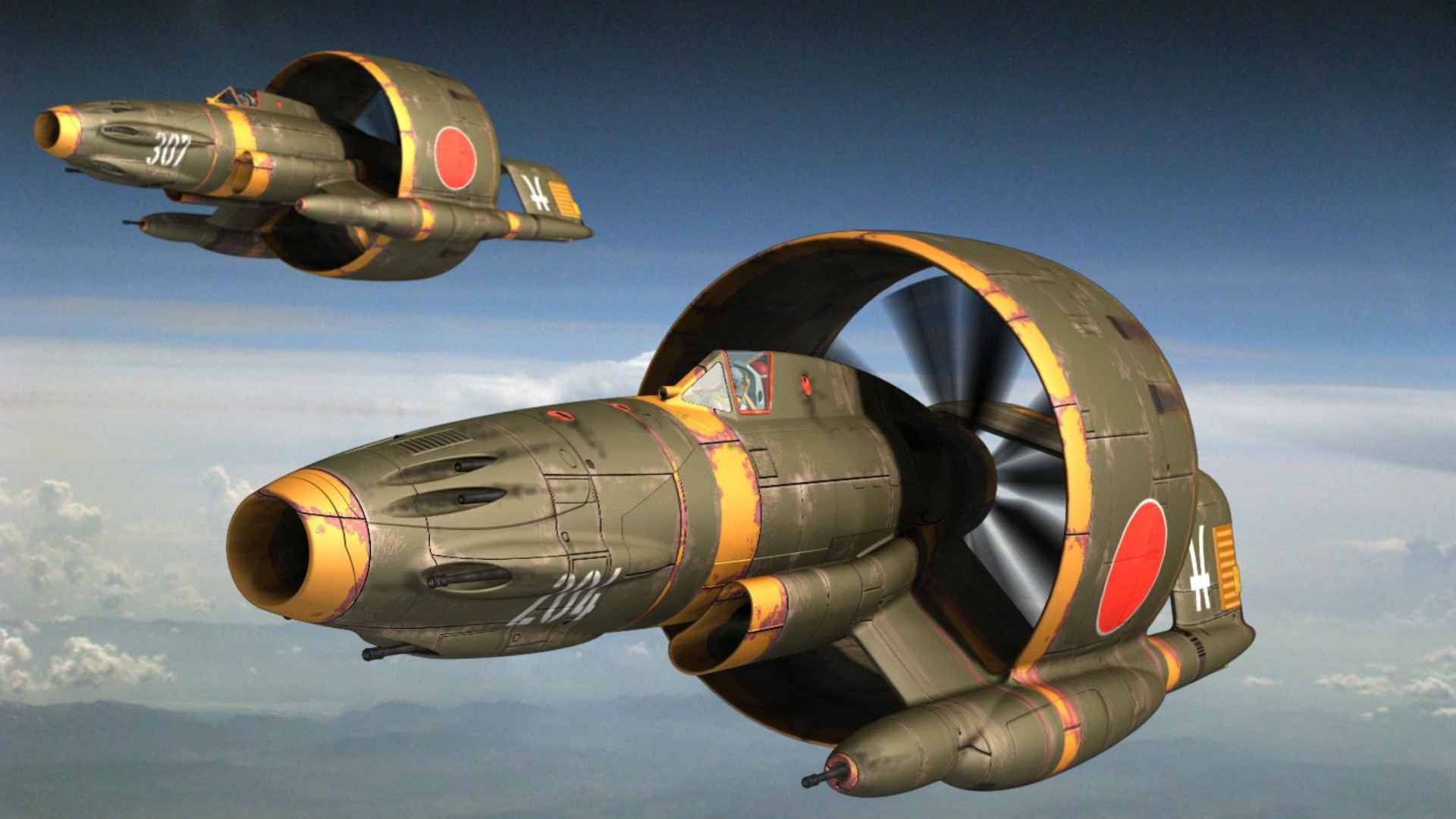 Sci Fi – Aircraft Wallpaper
