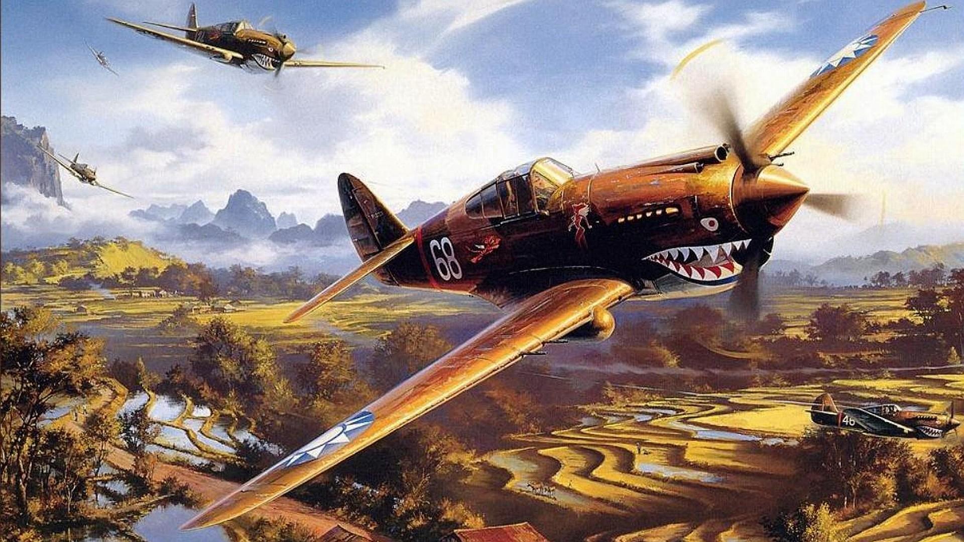 aircraft military fighter world war ii warbird black widow wallpaper .