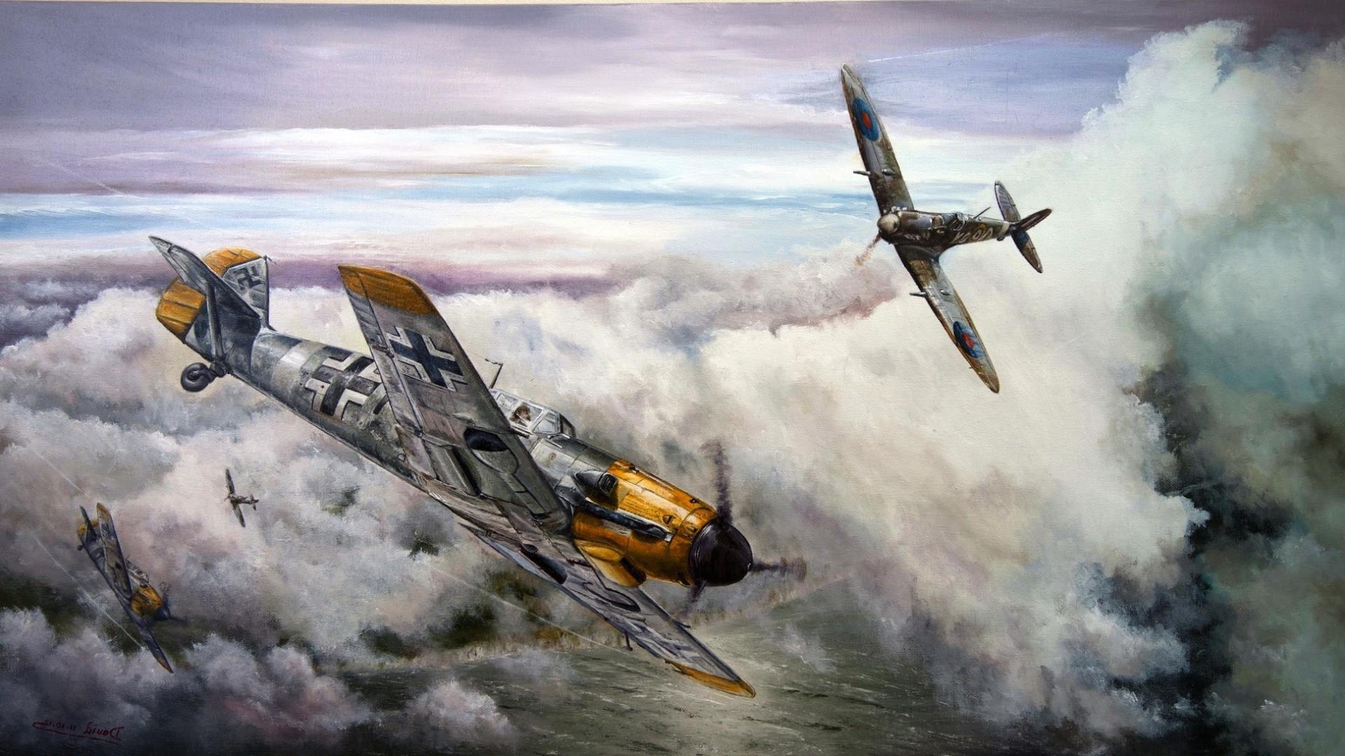 Messerschmitt, Messerschmitt Bf 109, World War II, Germany, Military  Aircraft, Luftwaffe Wallpapers HD / Desktop and Mobile Backgrounds