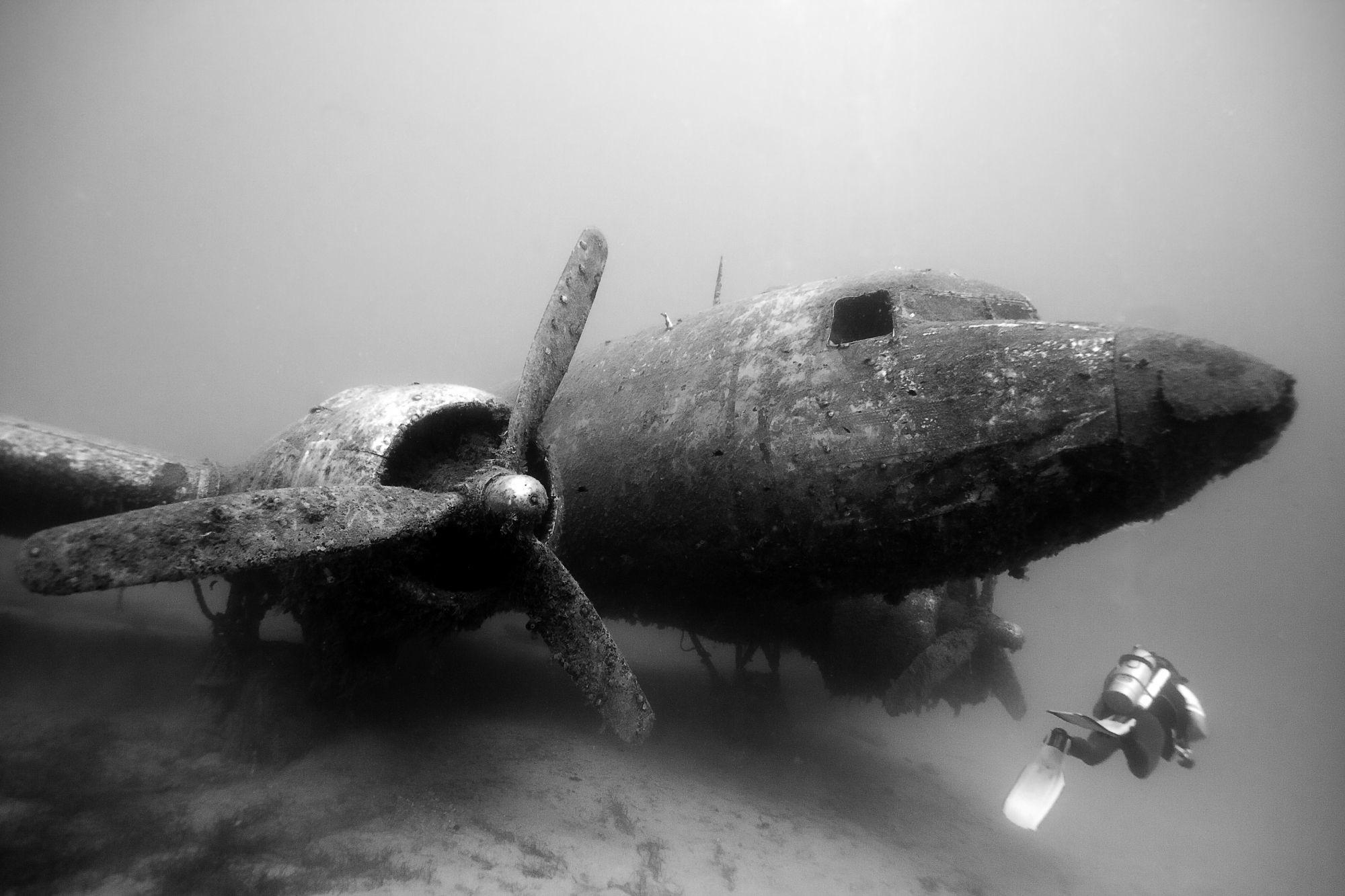 Abandoned. Ww2 PlanesUnderwater …