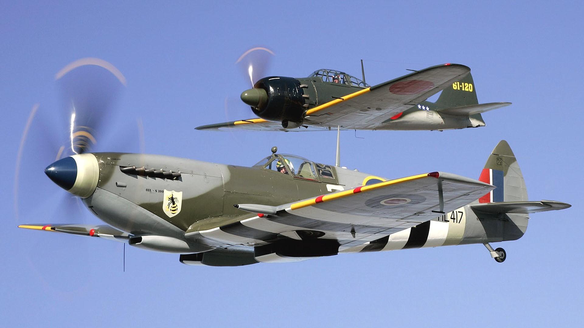 Aircraft military Japanese World War II Warbird British fighters wallpaper      194270   WallpaperUP