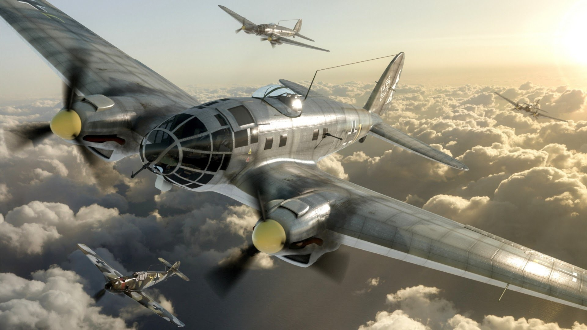 Luftwaffe Documentary – German Warplanes Of World War 2 – Films