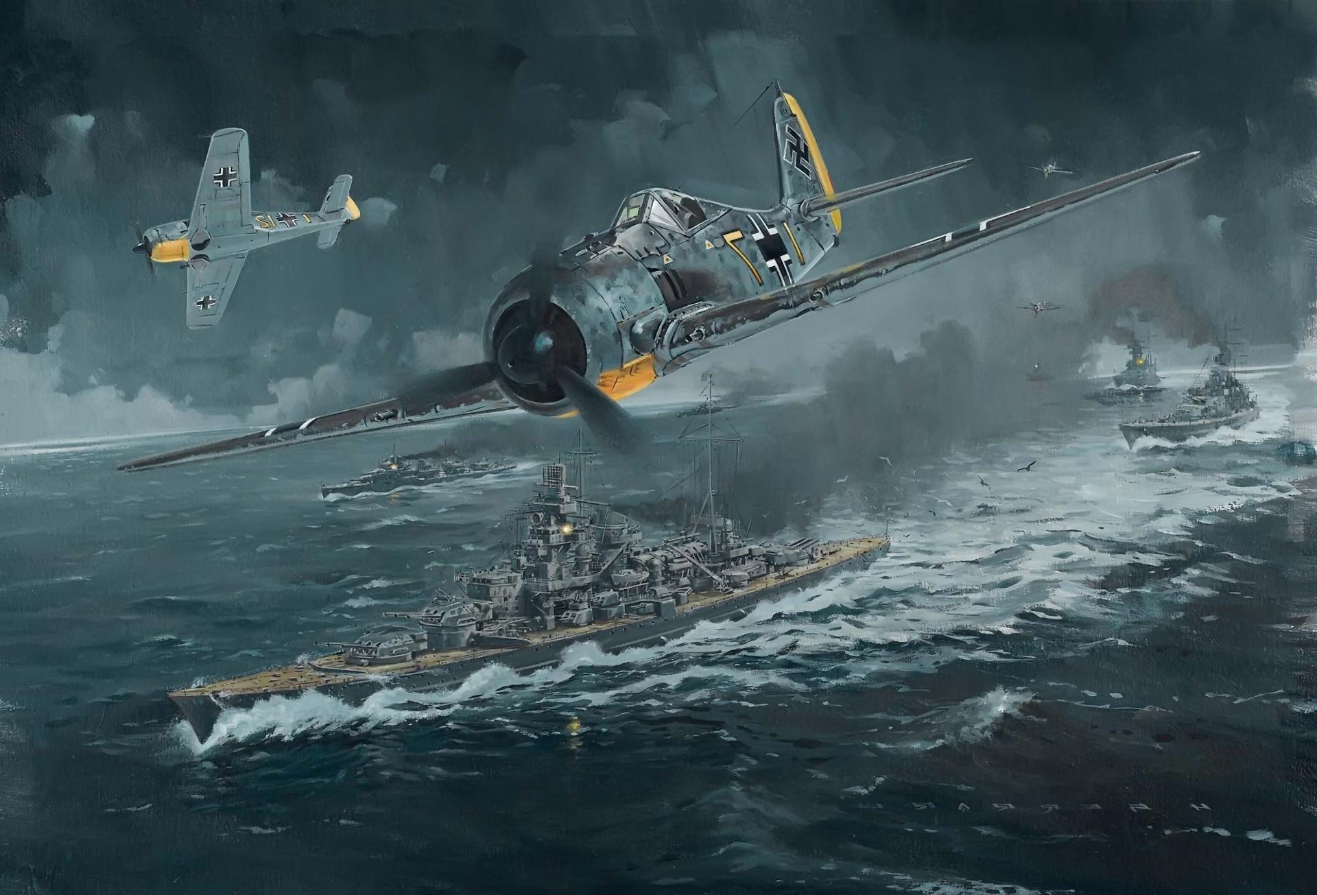 World War II, Fw 190, Focke Wulf, Luftwaffe, Germany, Military,