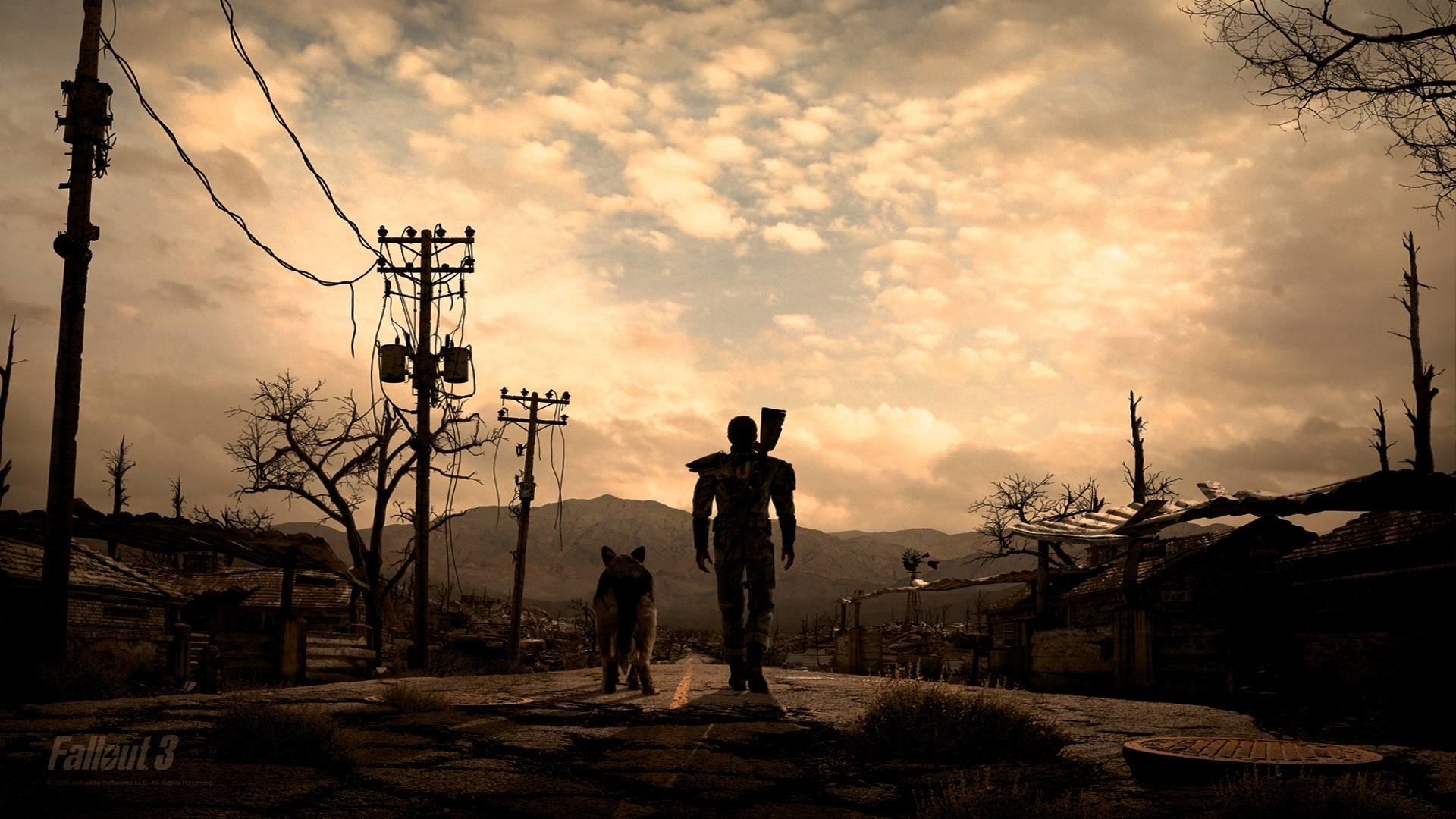 Pix For > Fallout 3 Fan Art Wallpaper