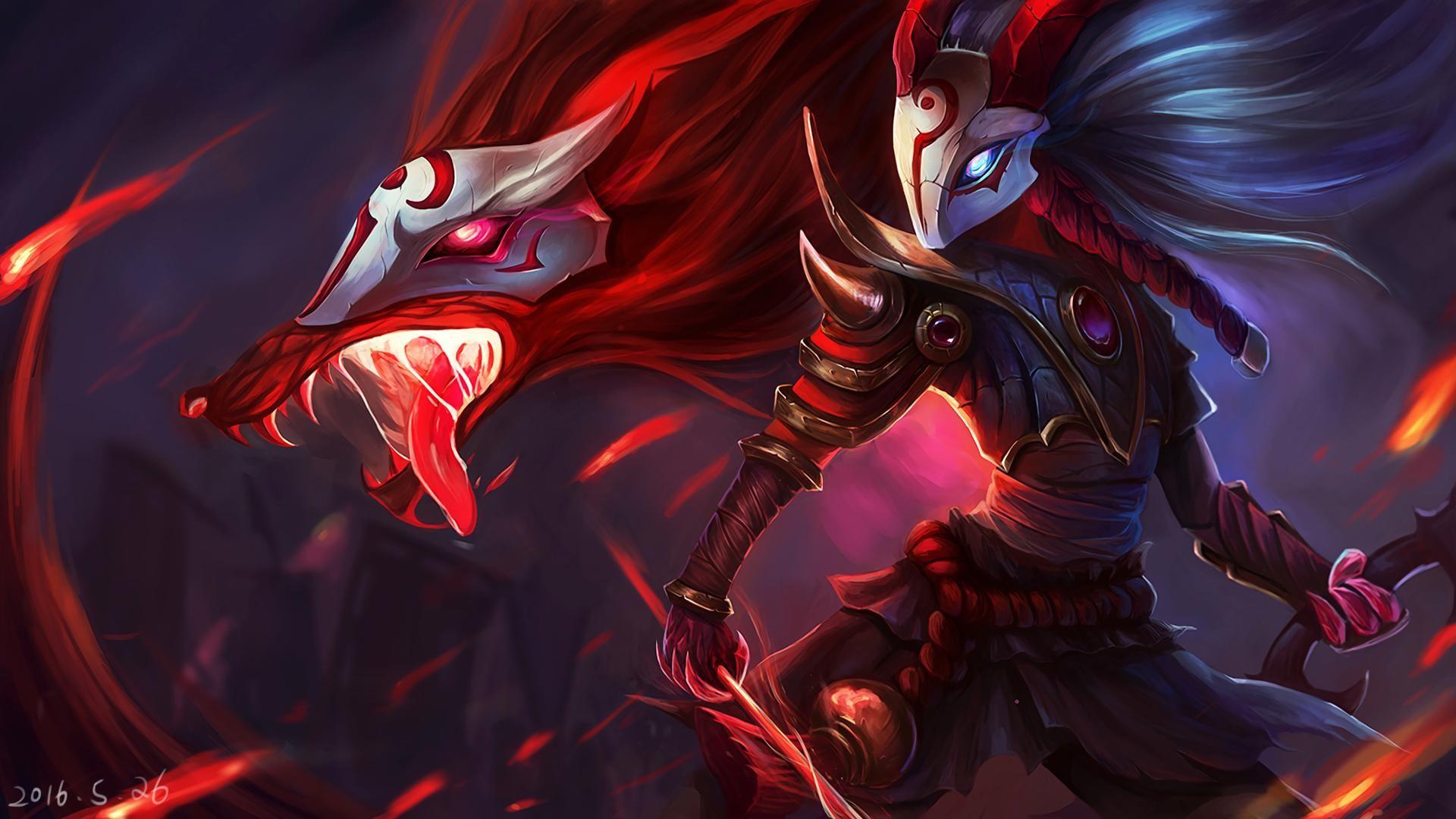Blood Moon Kindred wallpaper …