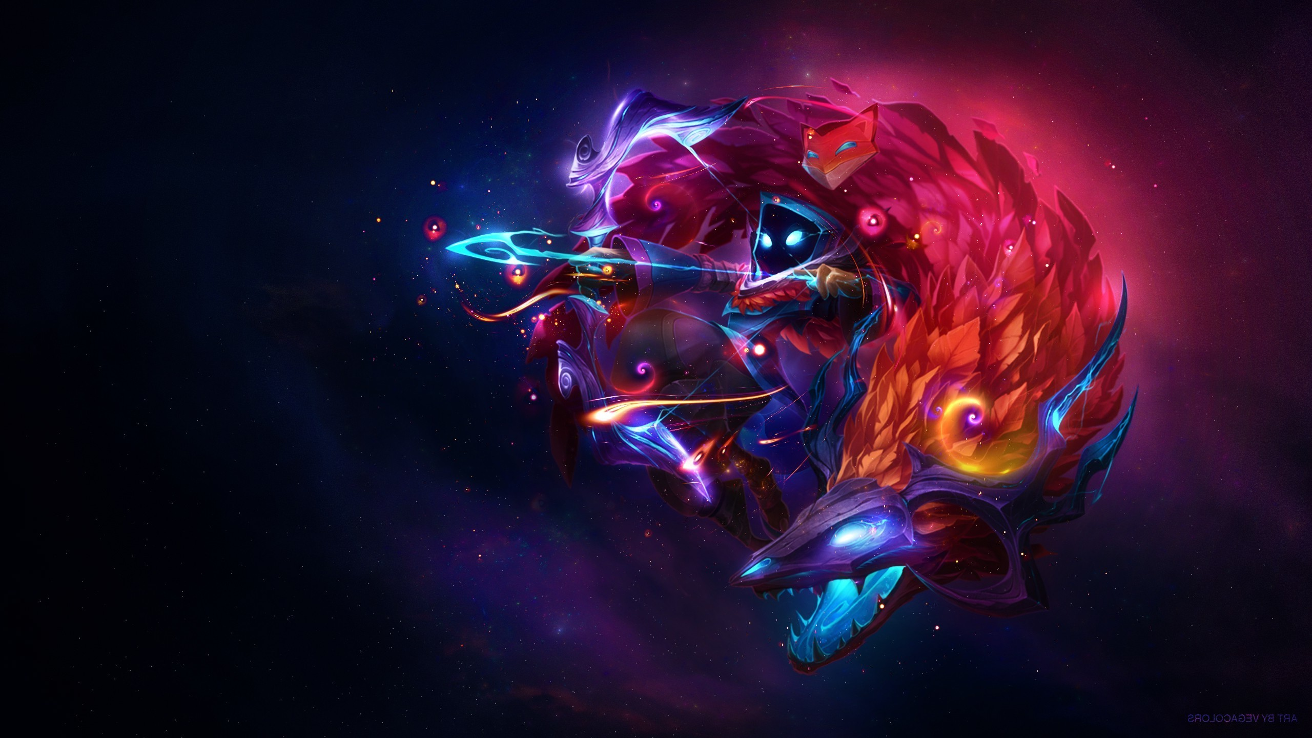 Kindred, League Of Legends, Video Games Wallpapers HD / Desktop and Mobile  Backgrounds